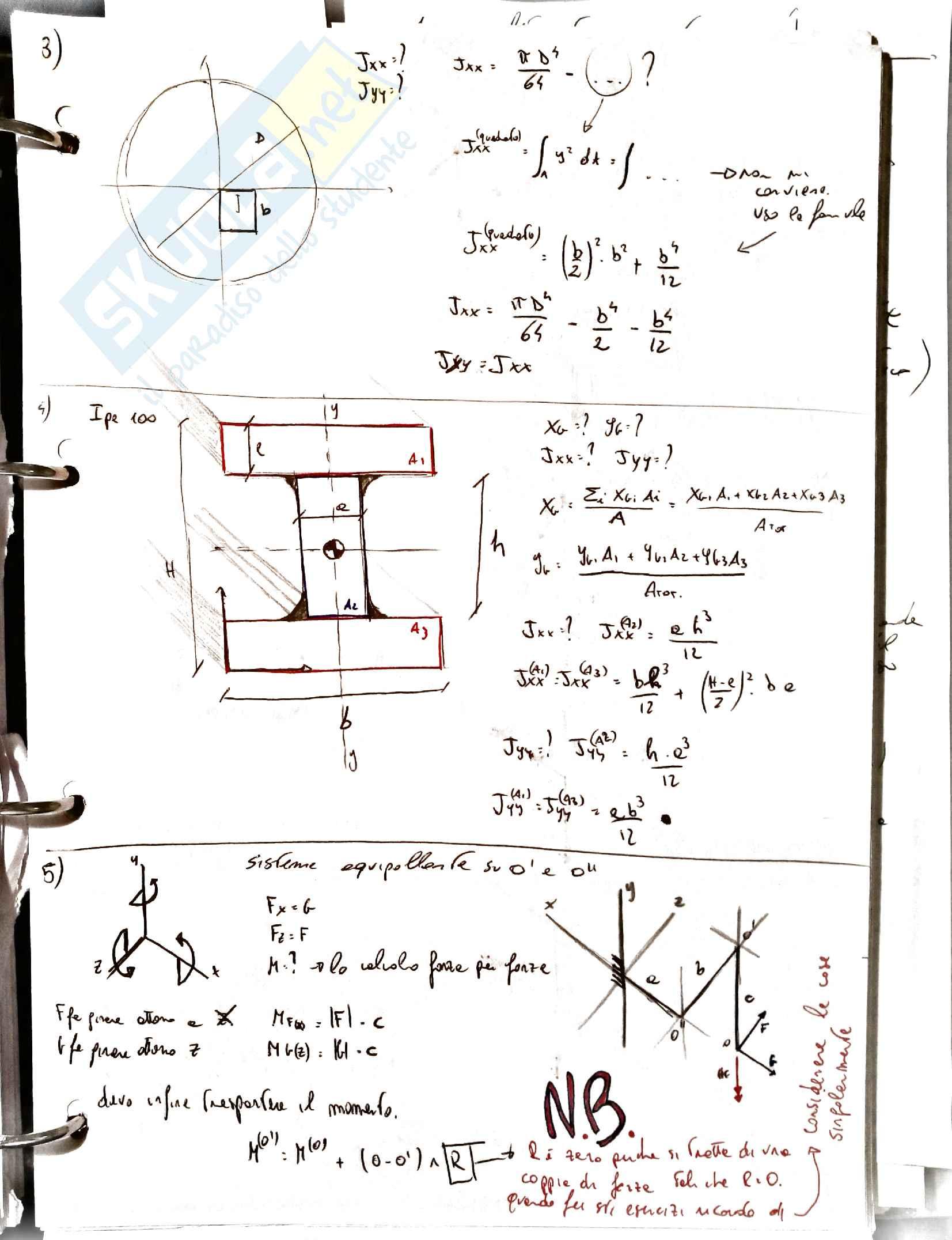 Esercitazioni costruzione di macchine 1 Pag. 6