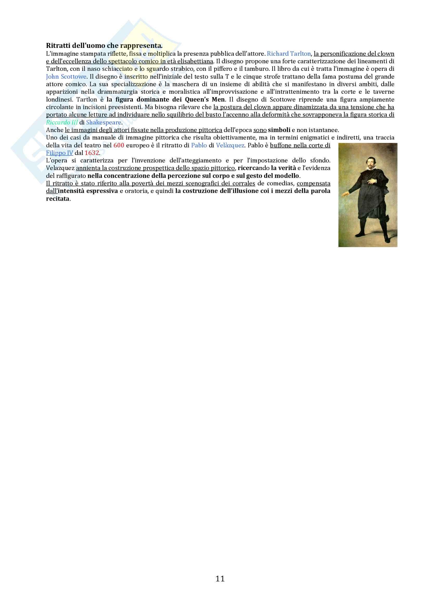Riassunto esame Storia del teatro e dello spettacolo, prof. De Marinis, libro consigliato Breve Storia del teatro per Immagini Pag. 11