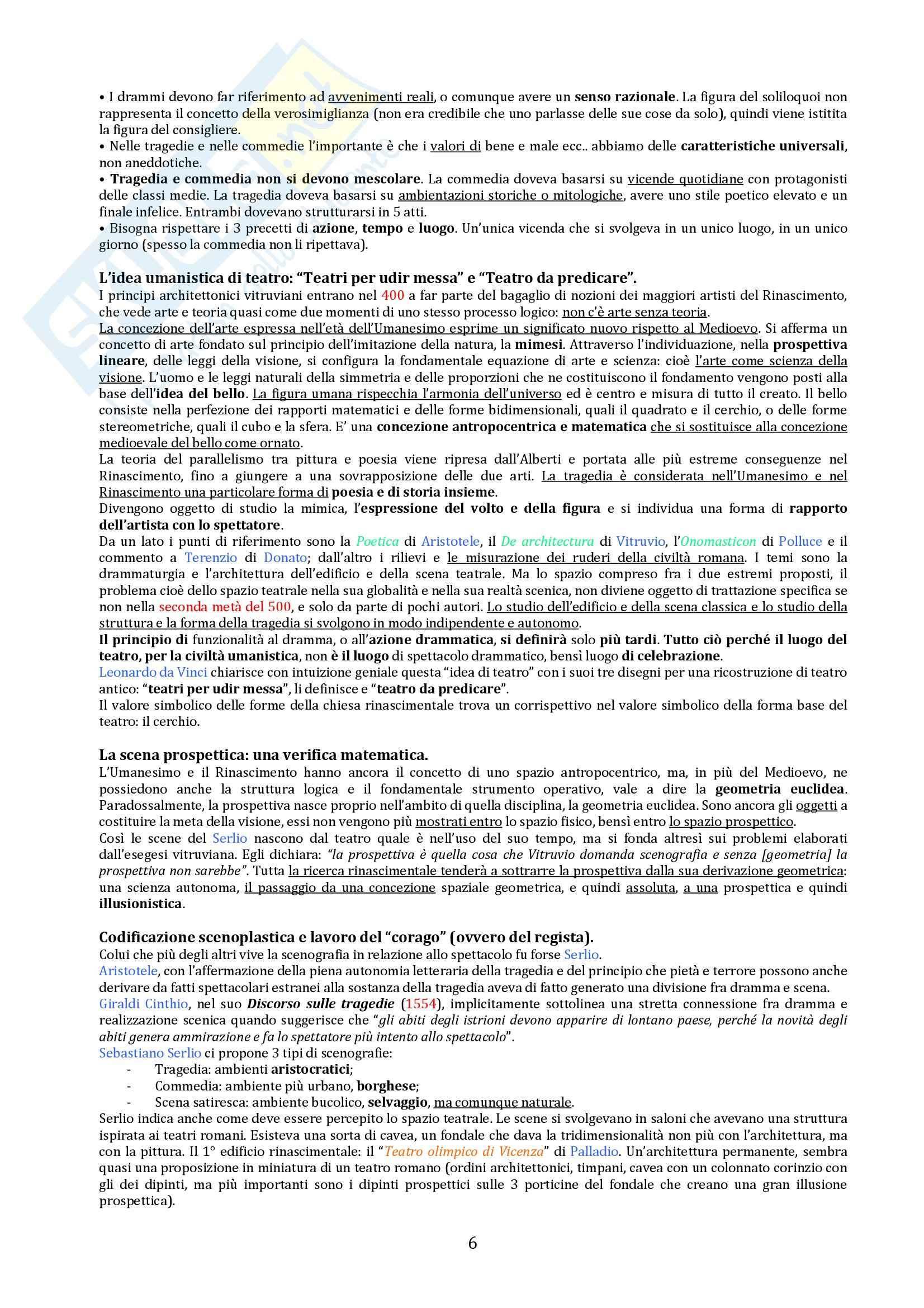 Riassunto esame Storia del teatro e dello spettacolo, prof. De Marinis, libro consigliato Breve Storia del teatro per Immagini Pag. 6