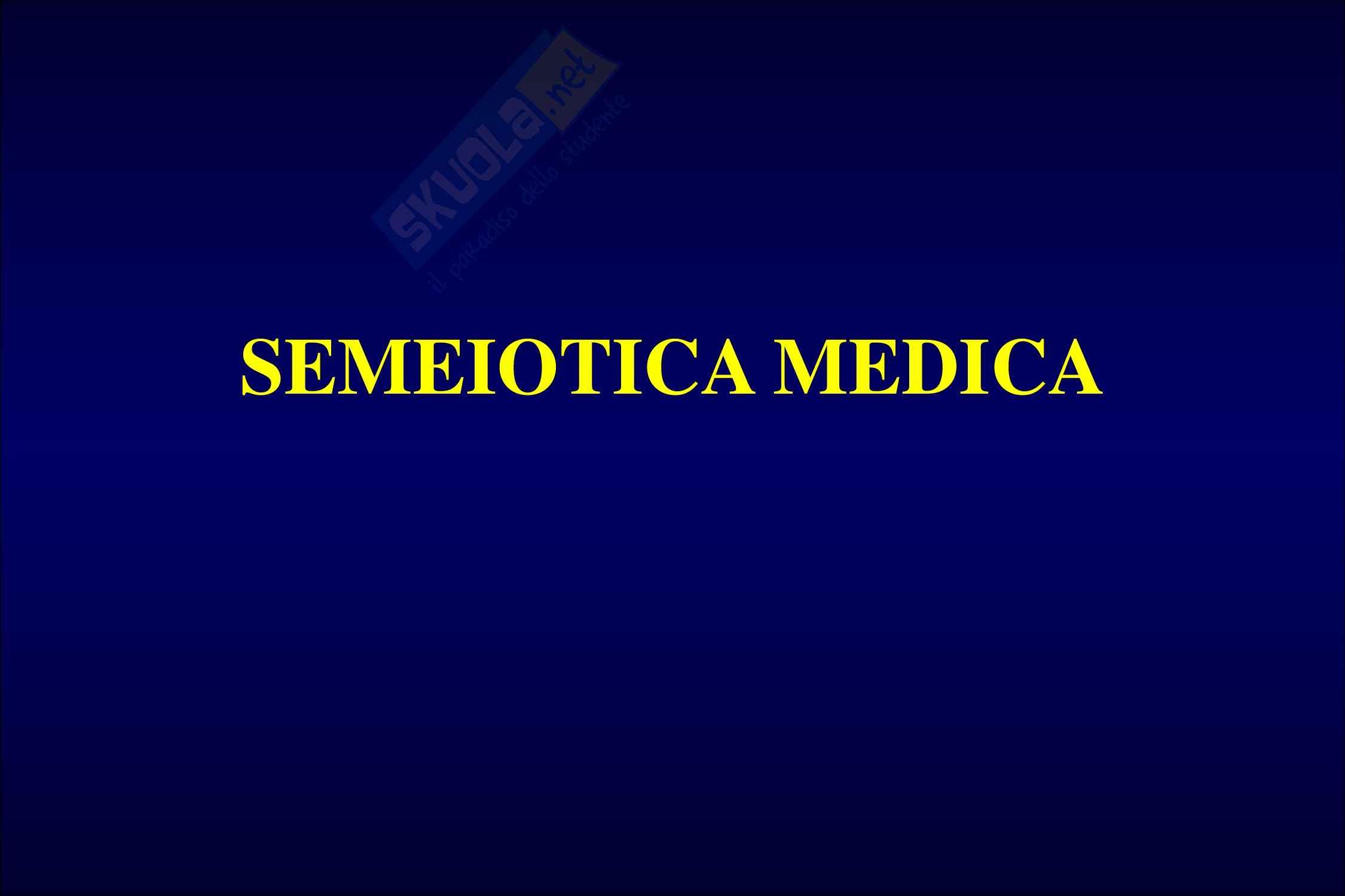 Semeiotica dermatologica