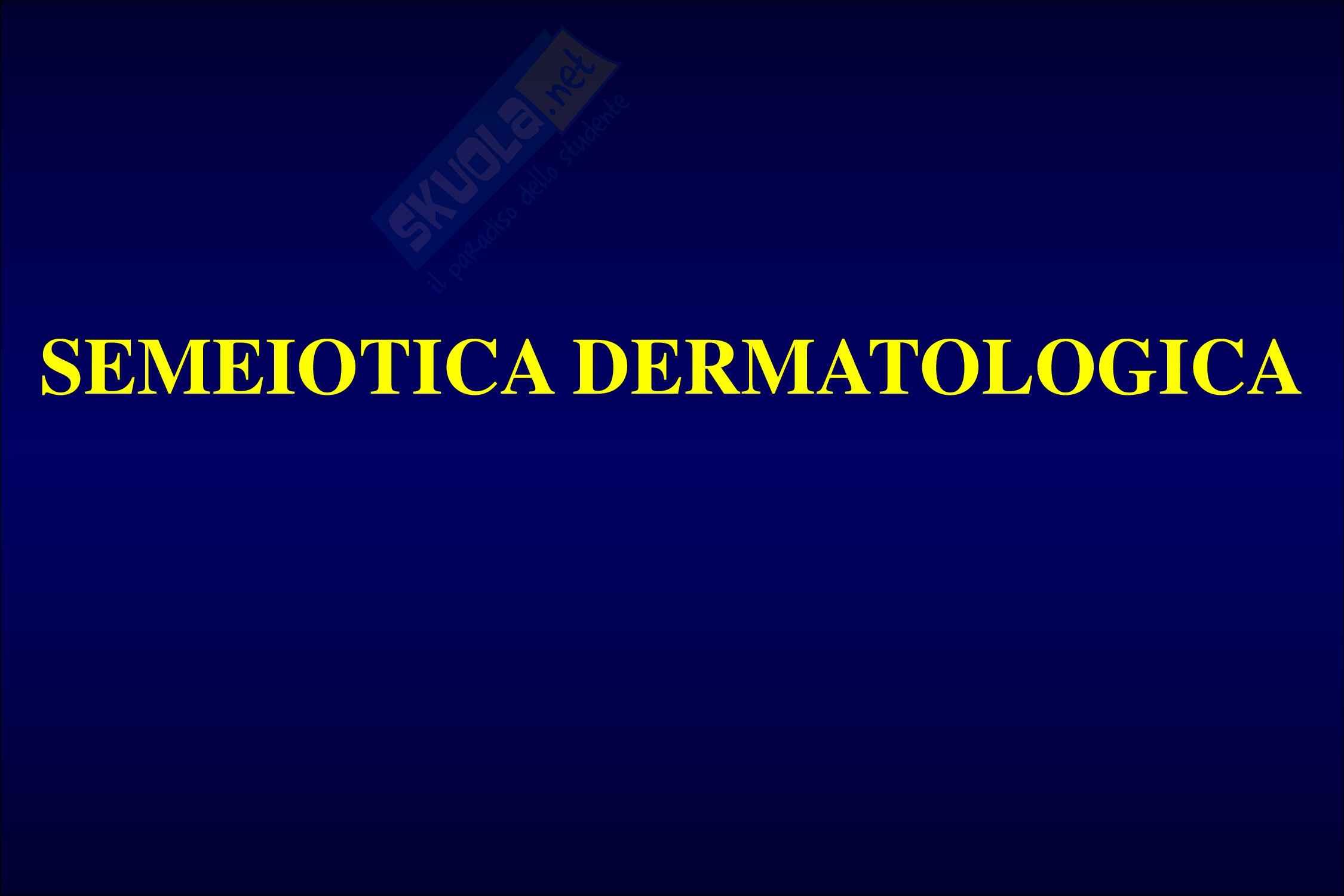 Semeiotica dermatologica Pag. 6