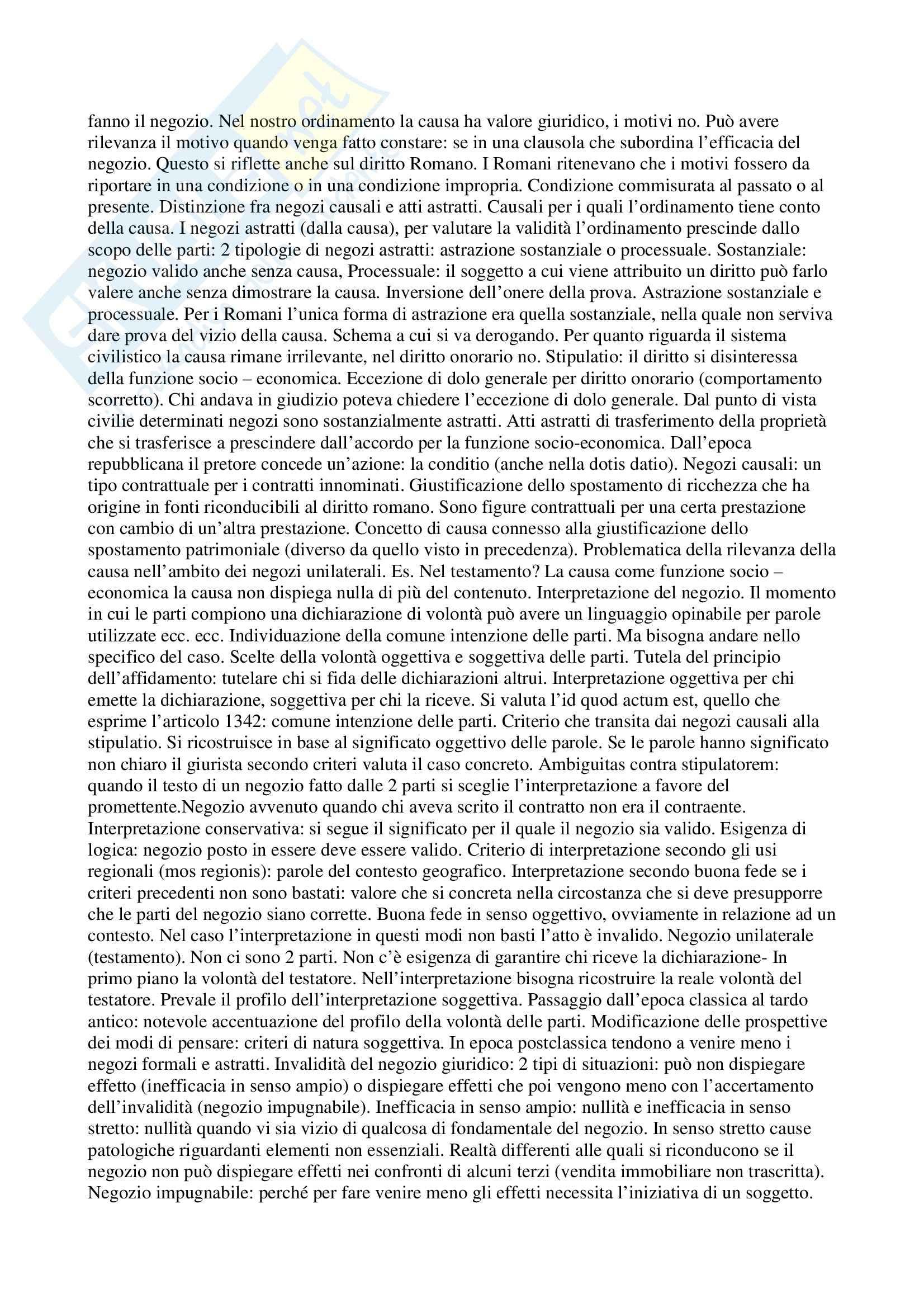 Istituzioni di diritto romano - Appunti Pag. 16