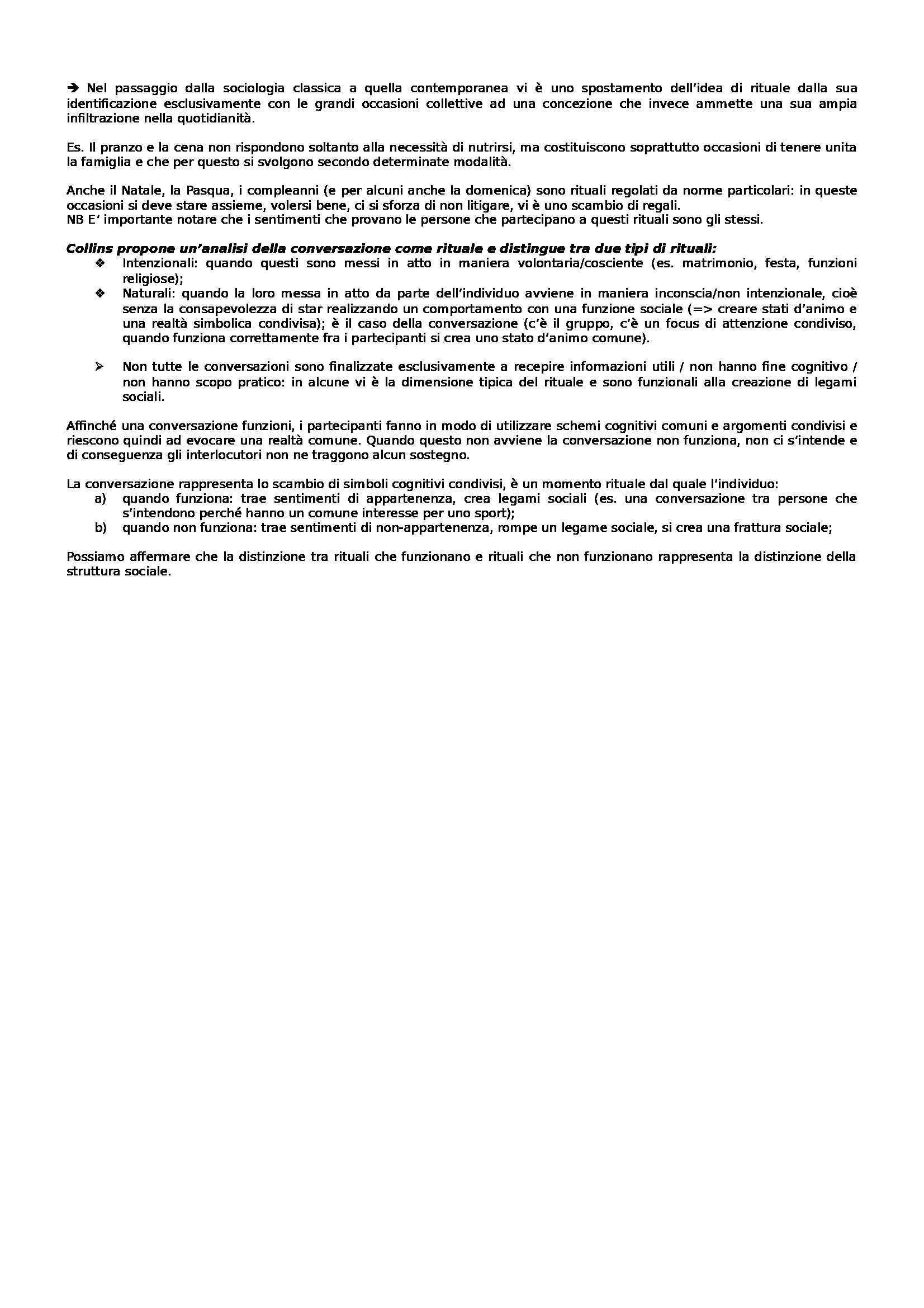 Istituzioni di sociologia - Appunti parte due Pag. 11