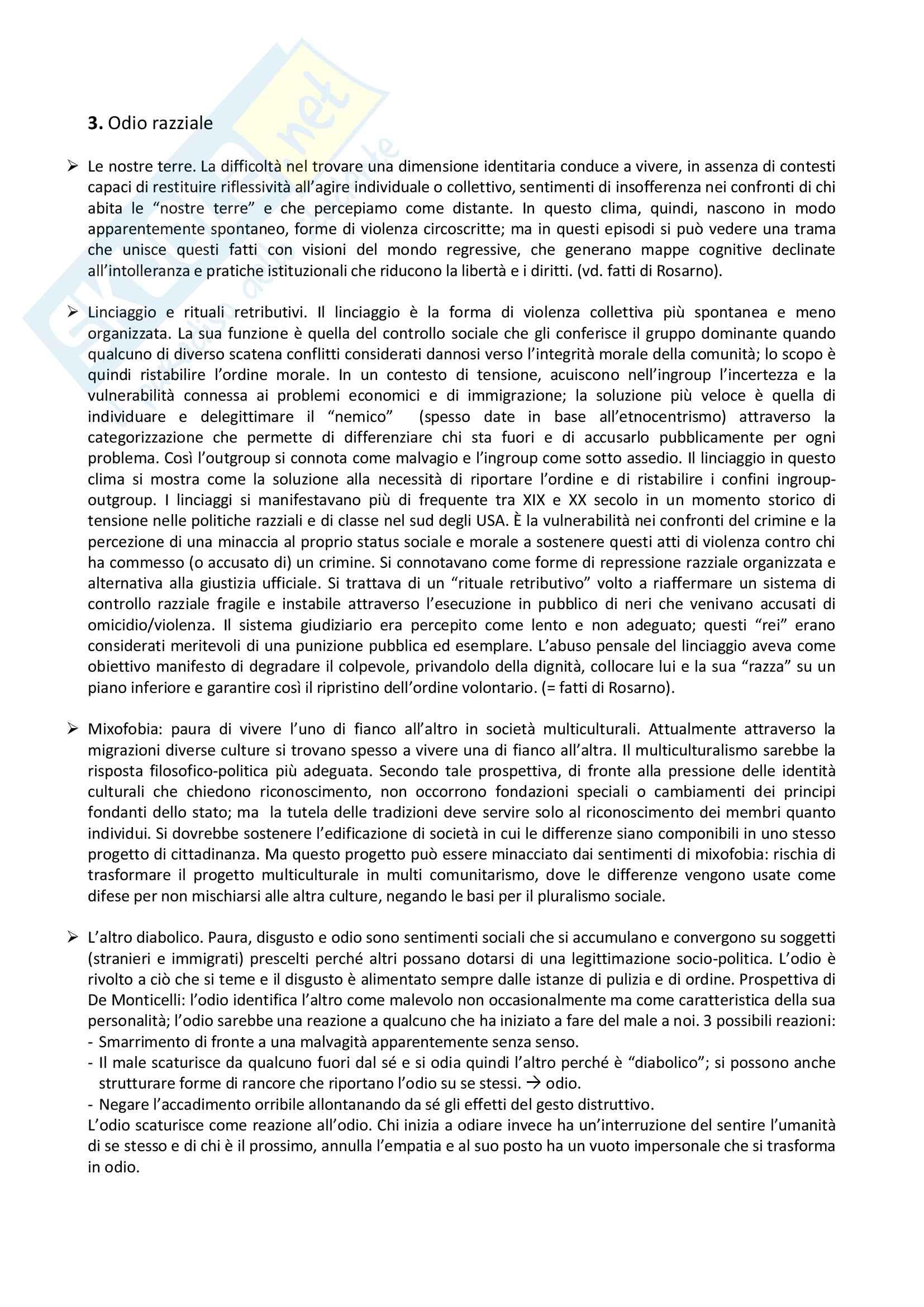 """Riassunto esame Criminologia, prof. Ceretti, libro consigliato """"Oltre la paura"""" Pag. 6"""