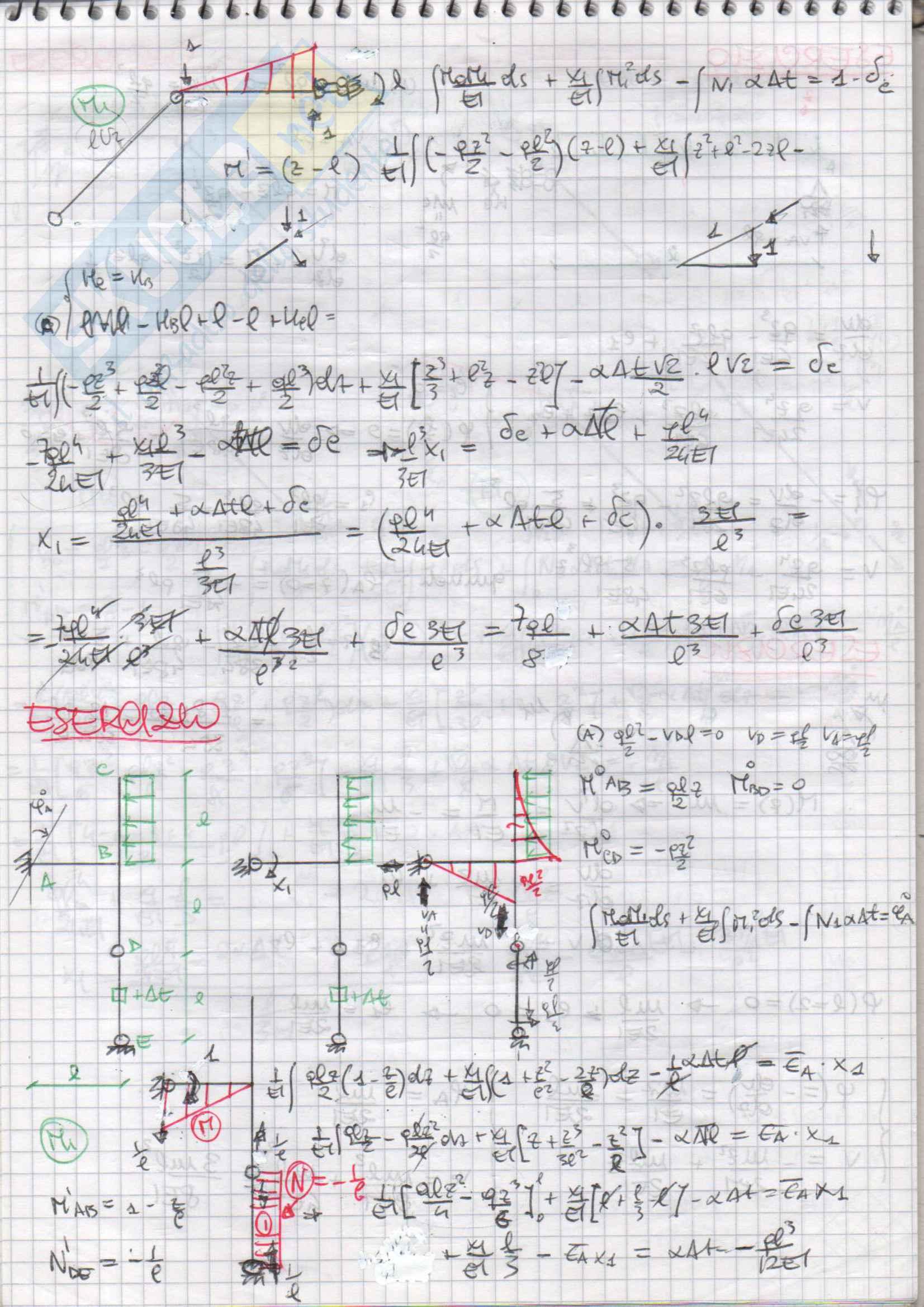 Esercizi svolti di Scienza delle Costruzioni Pag. 76