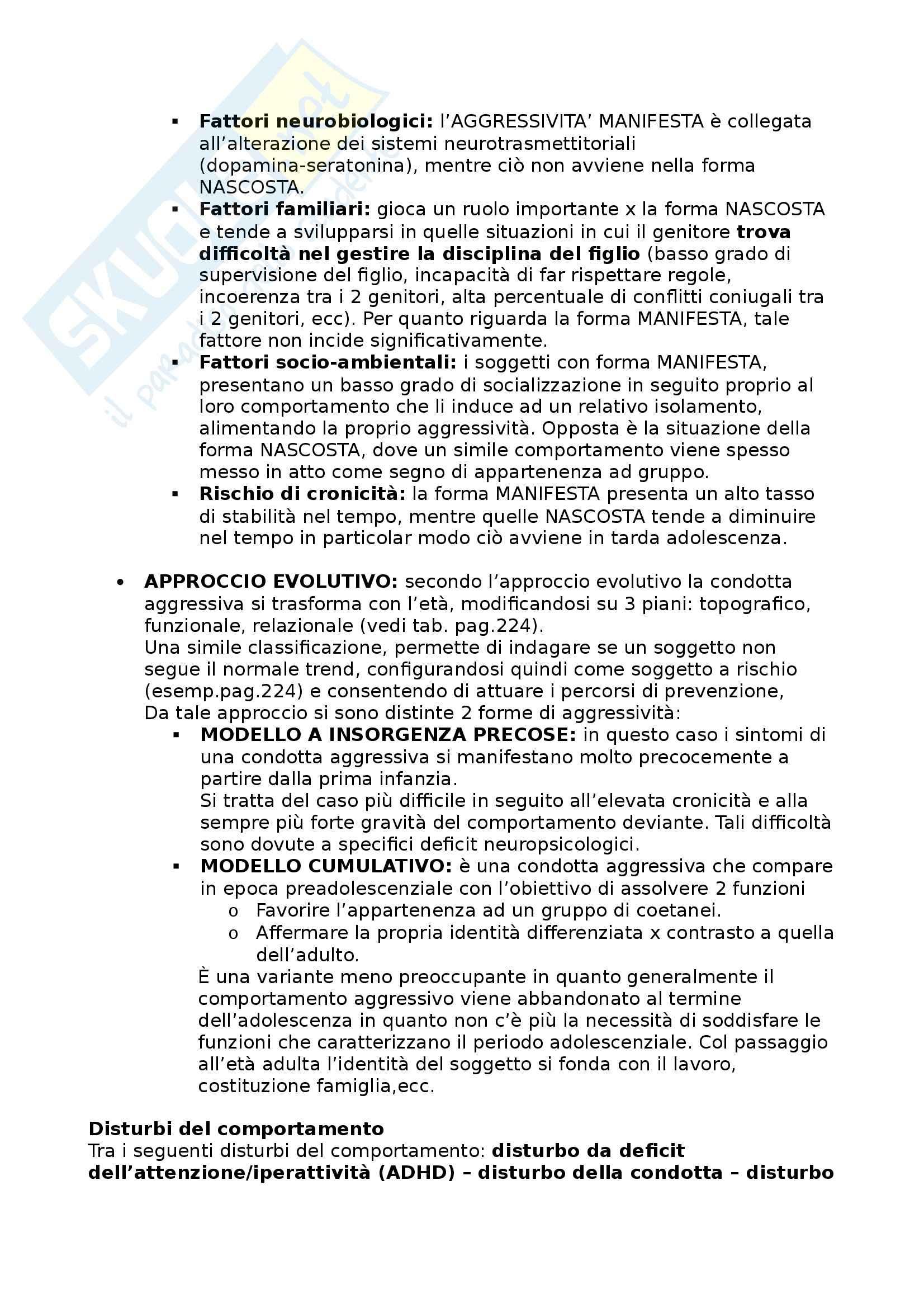Riassunto esame Didattica e Pedagogia Speciale, prof. Cottini Pag. 16
