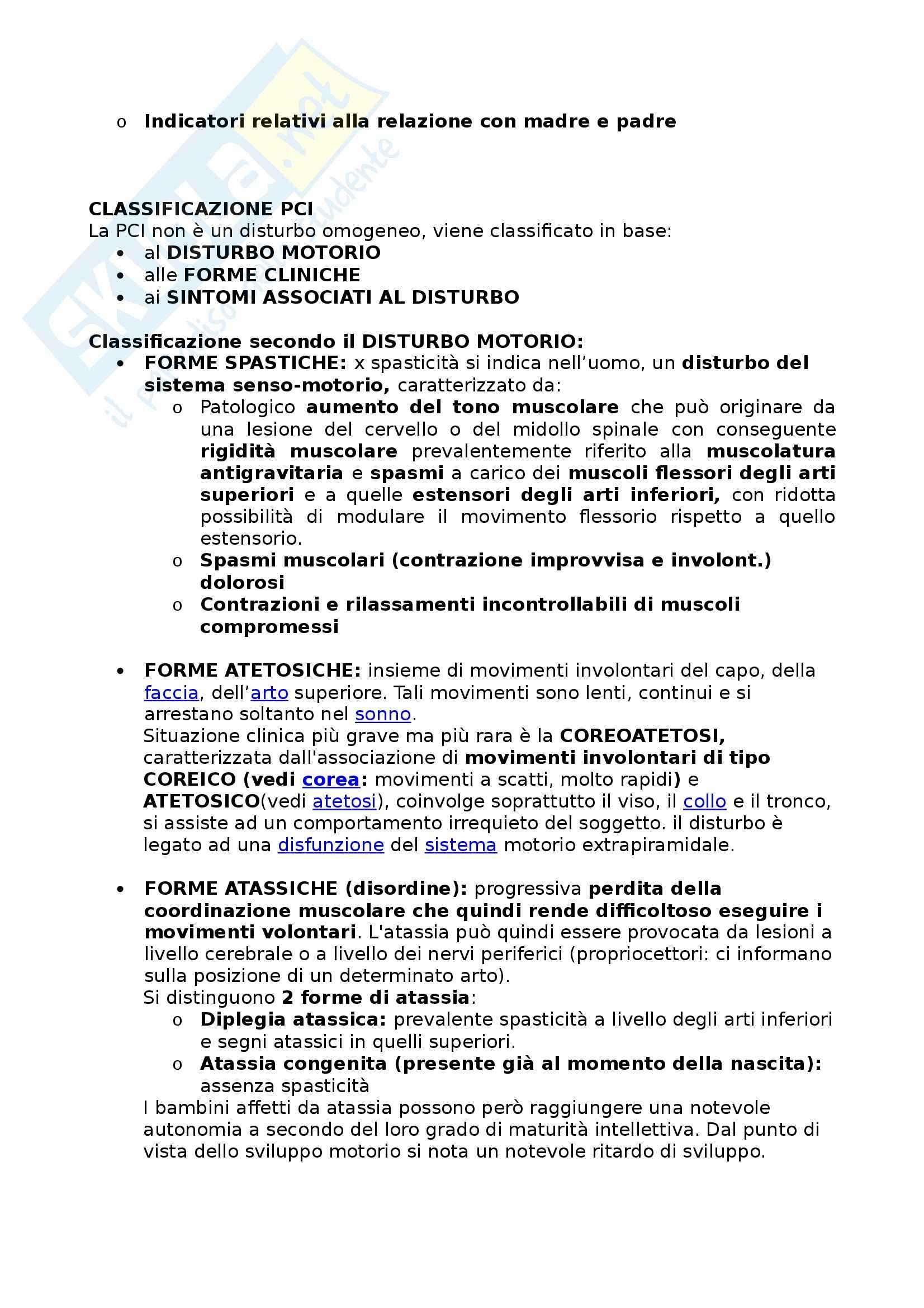 Riassunto esame Didattica e Pedagogia Speciale, prof. Cottini Pag. 6