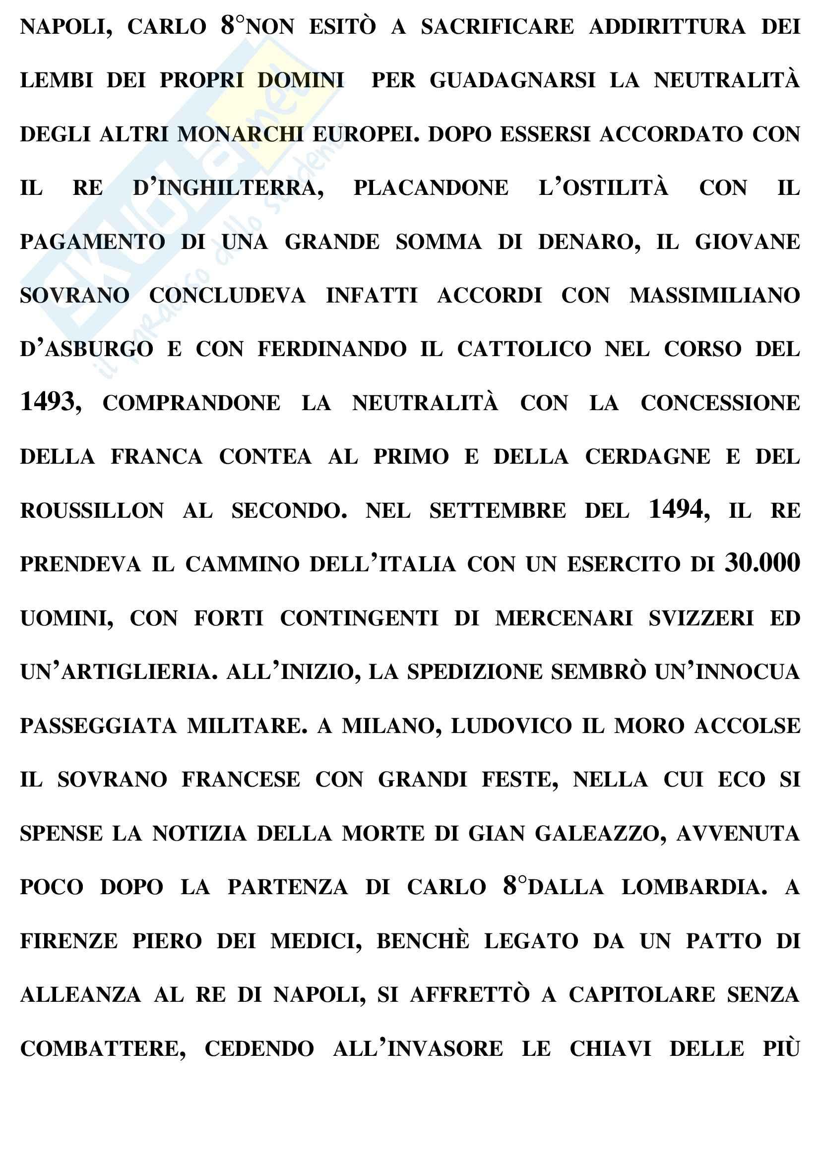 Riassunto esame Storia moderna, prof. Formigoni Pag. 26