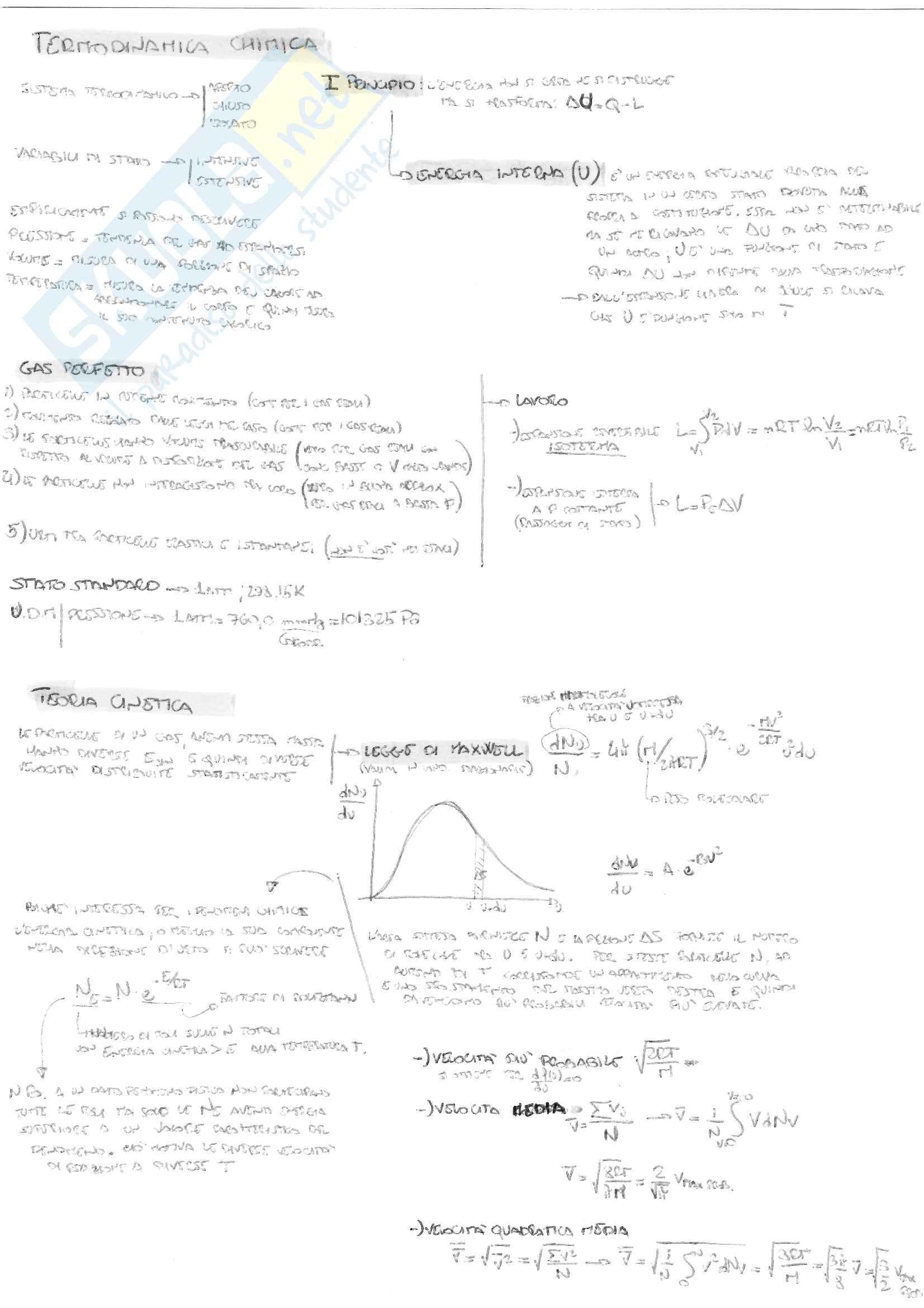 Chimica 02 Termodinamica Chimica