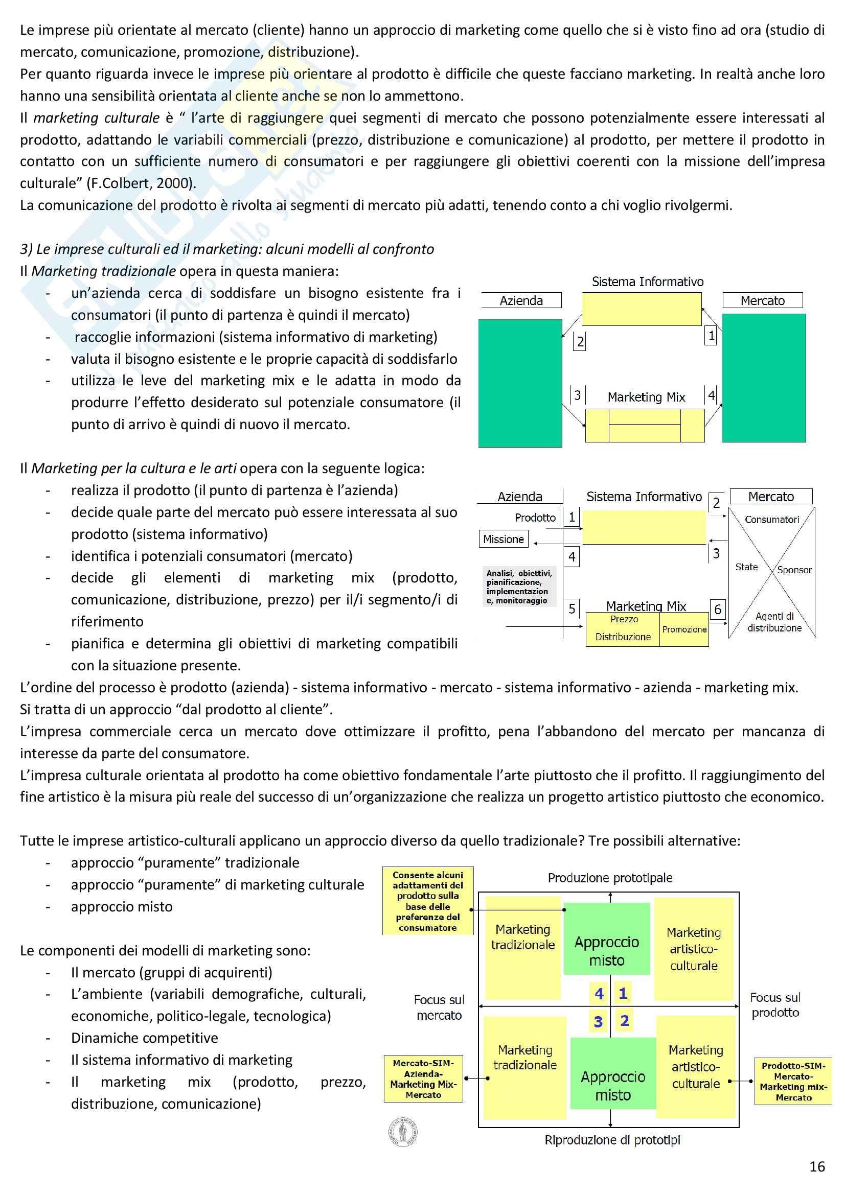 Riassunto esame Marketing, prof. Ranfagni, libro consigliato Marketing per il governo d'impresa, Burresi, Aiello Pag. 16