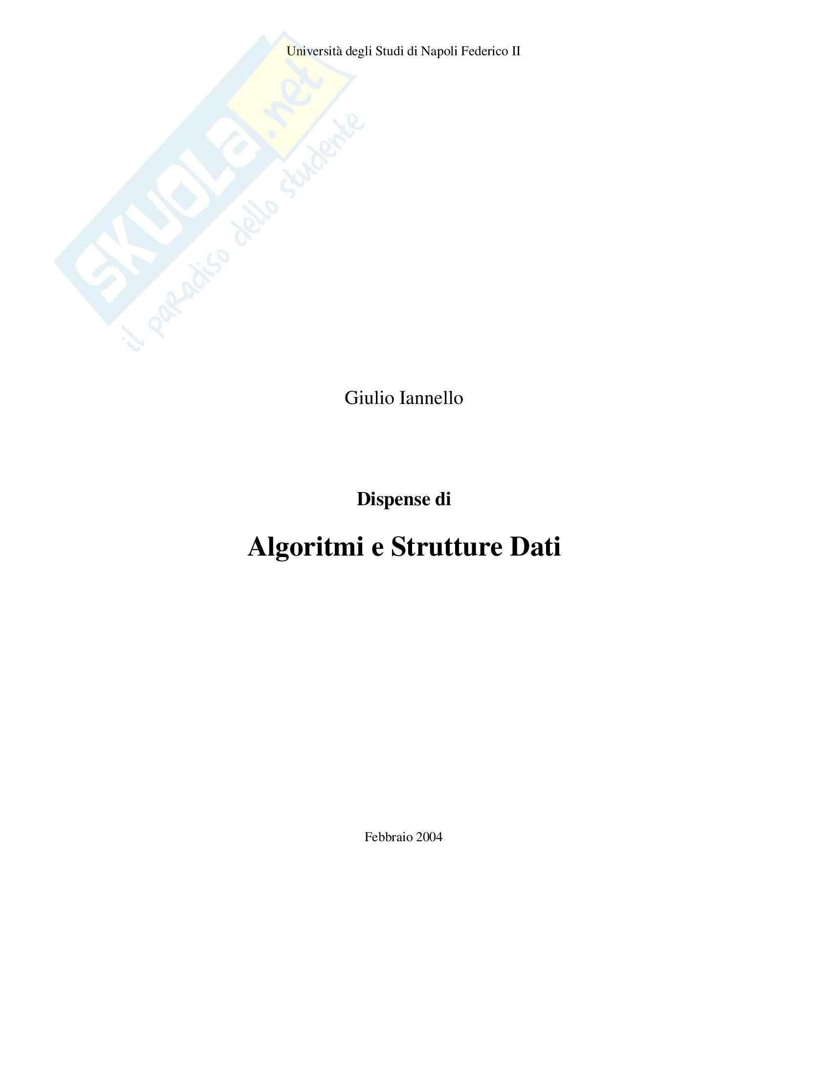 Algoritmi e strutture dati - Analisi Lessicale-Sintattica