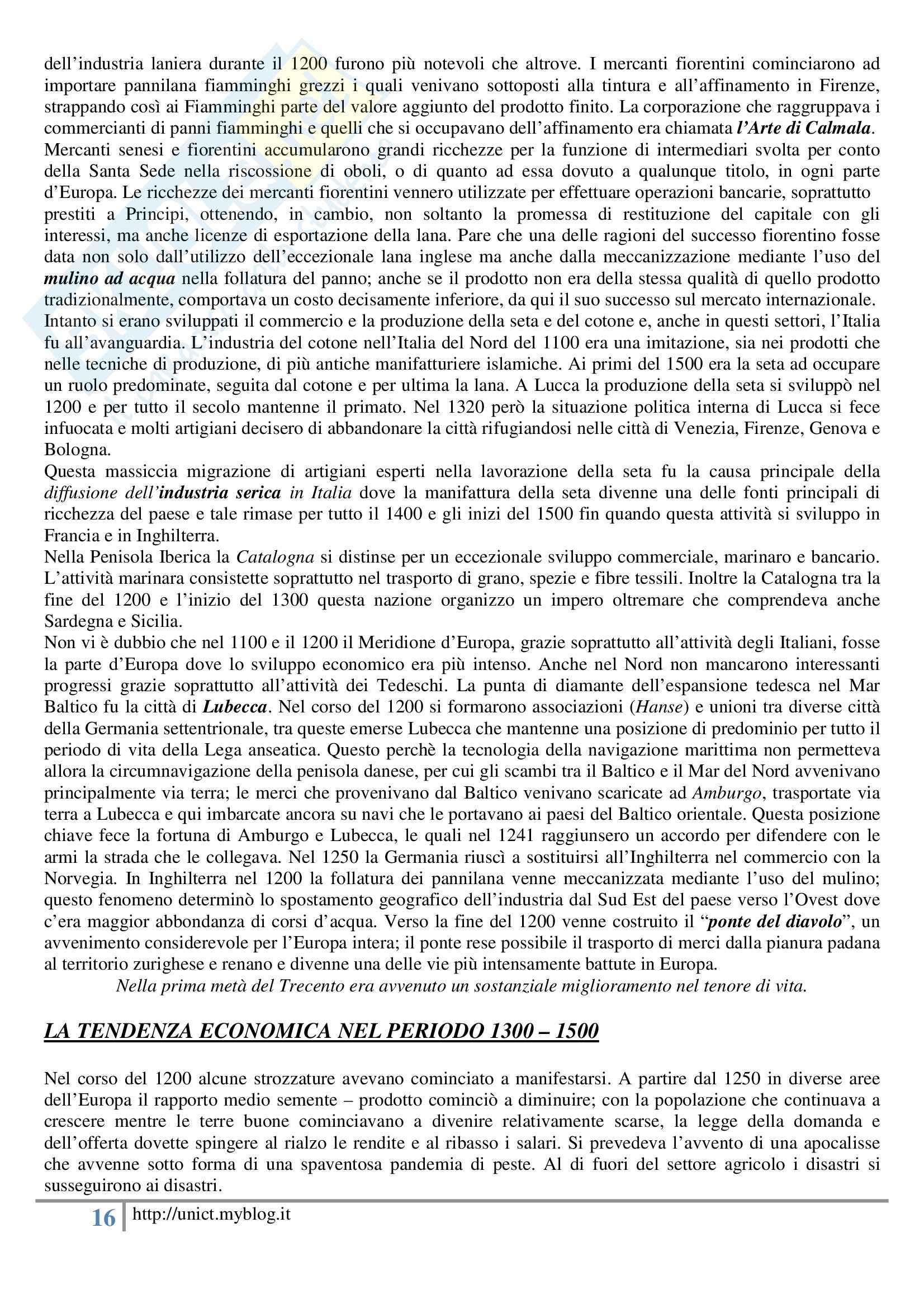Storia dell'economia mondiale, Assante, Cipolla, Romano - Appunti Pag. 16