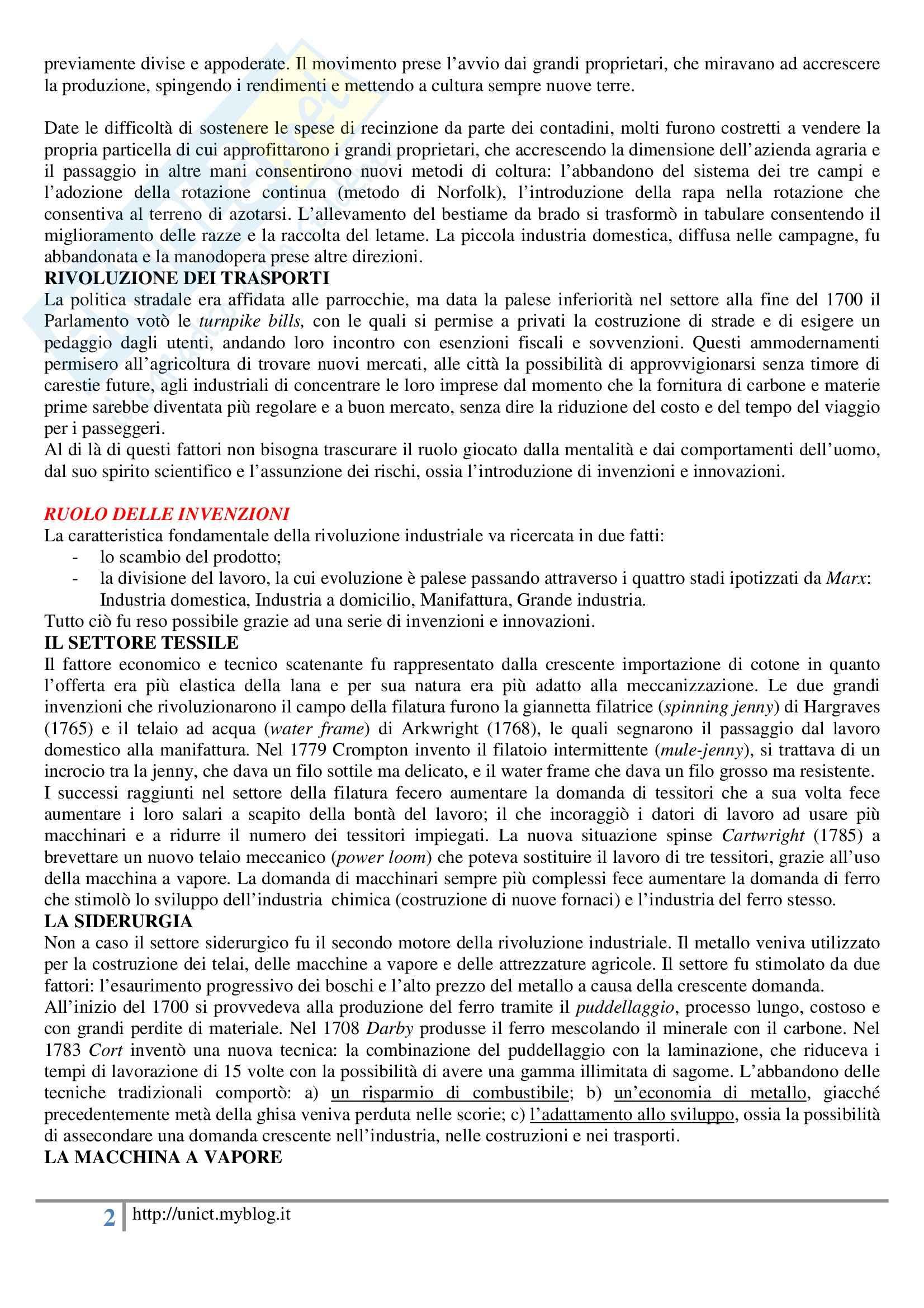Storia dell'economia mondiale, Assante, Cipolla, Romano - Appunti Pag. 26