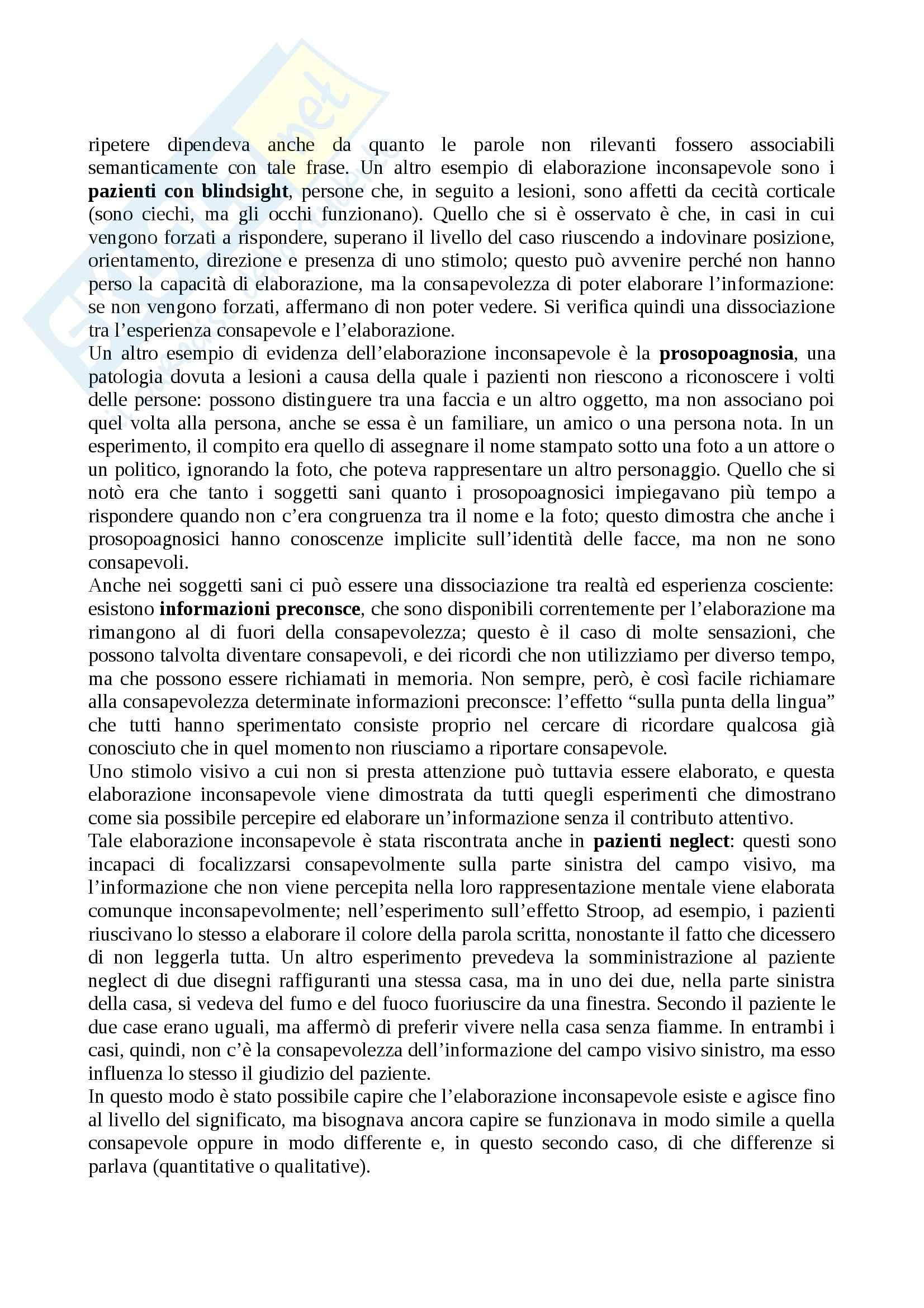 Psicologia generale I - Appunti Pag. 56