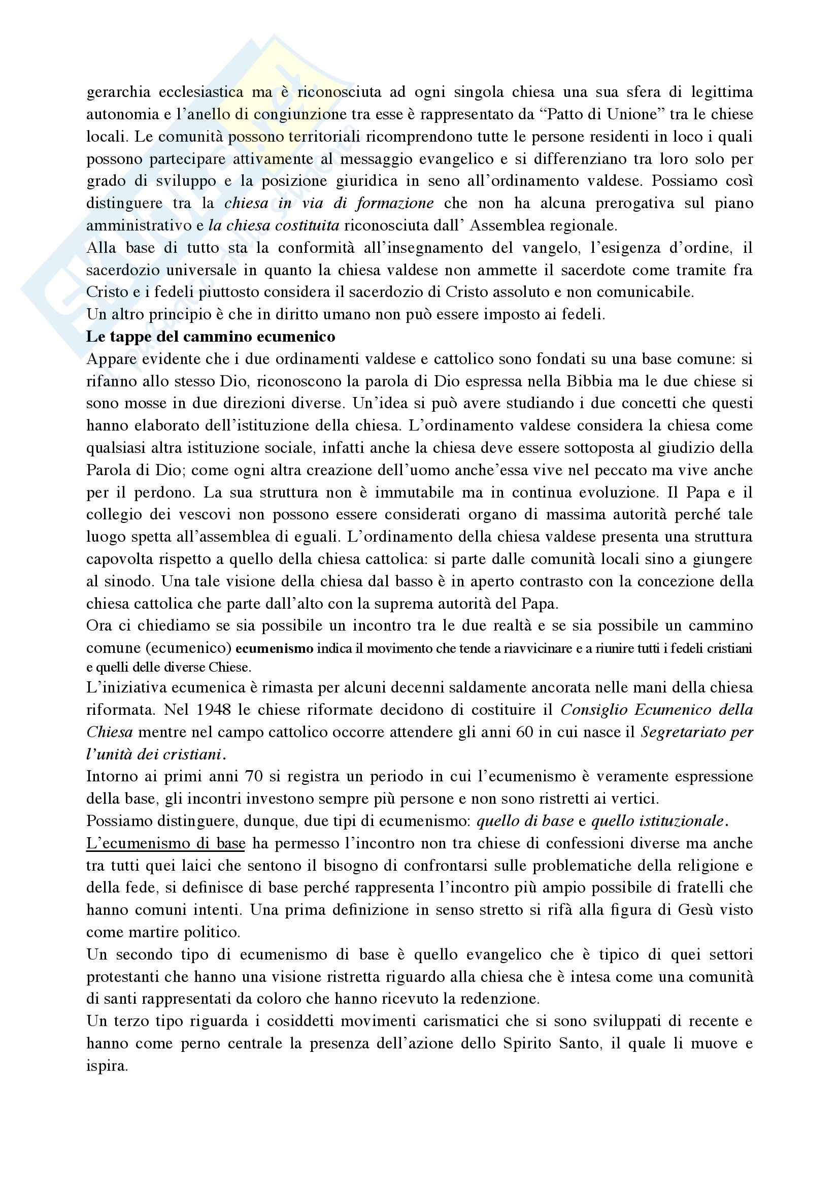 Riassunto esame Diritto Canonico, prof. De Gregorio, libro consigliato Argomenti di storia e diritto canonico Pag. 2