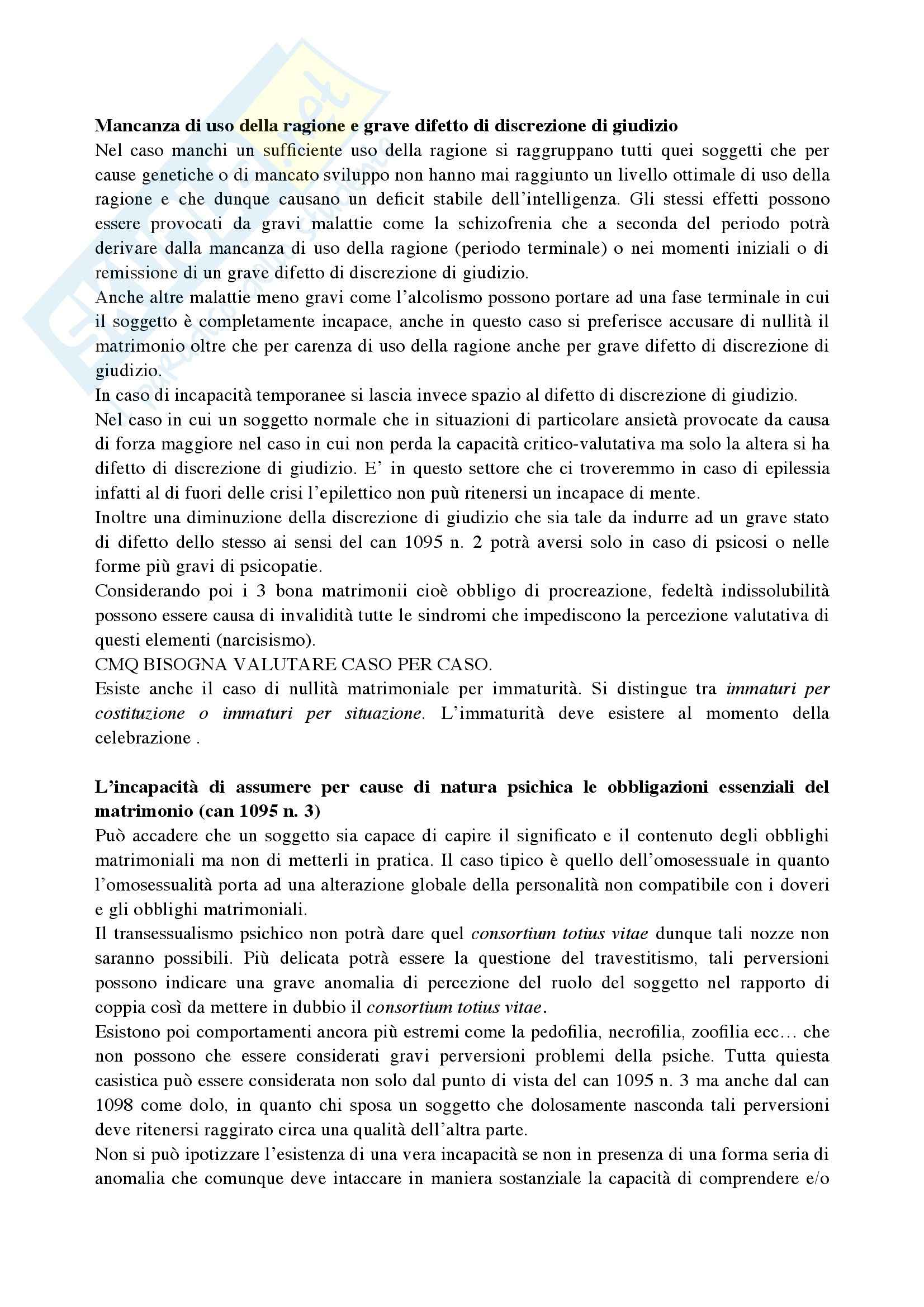 Riassunto esame Diritto Canonico, prof. De Gregorio, libro consigliato Argomenti di storia e diritto canonico Pag. 21