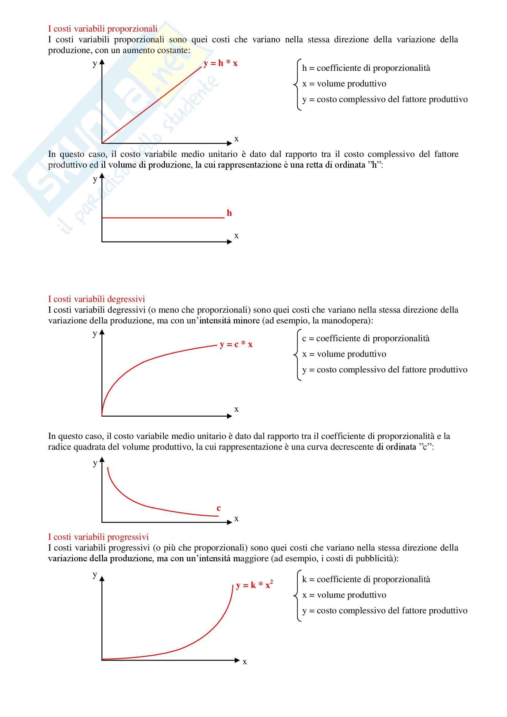 Contabilità generale e analitica - Riassunto esame tutto il programma, prof. Verdini Pag. 16