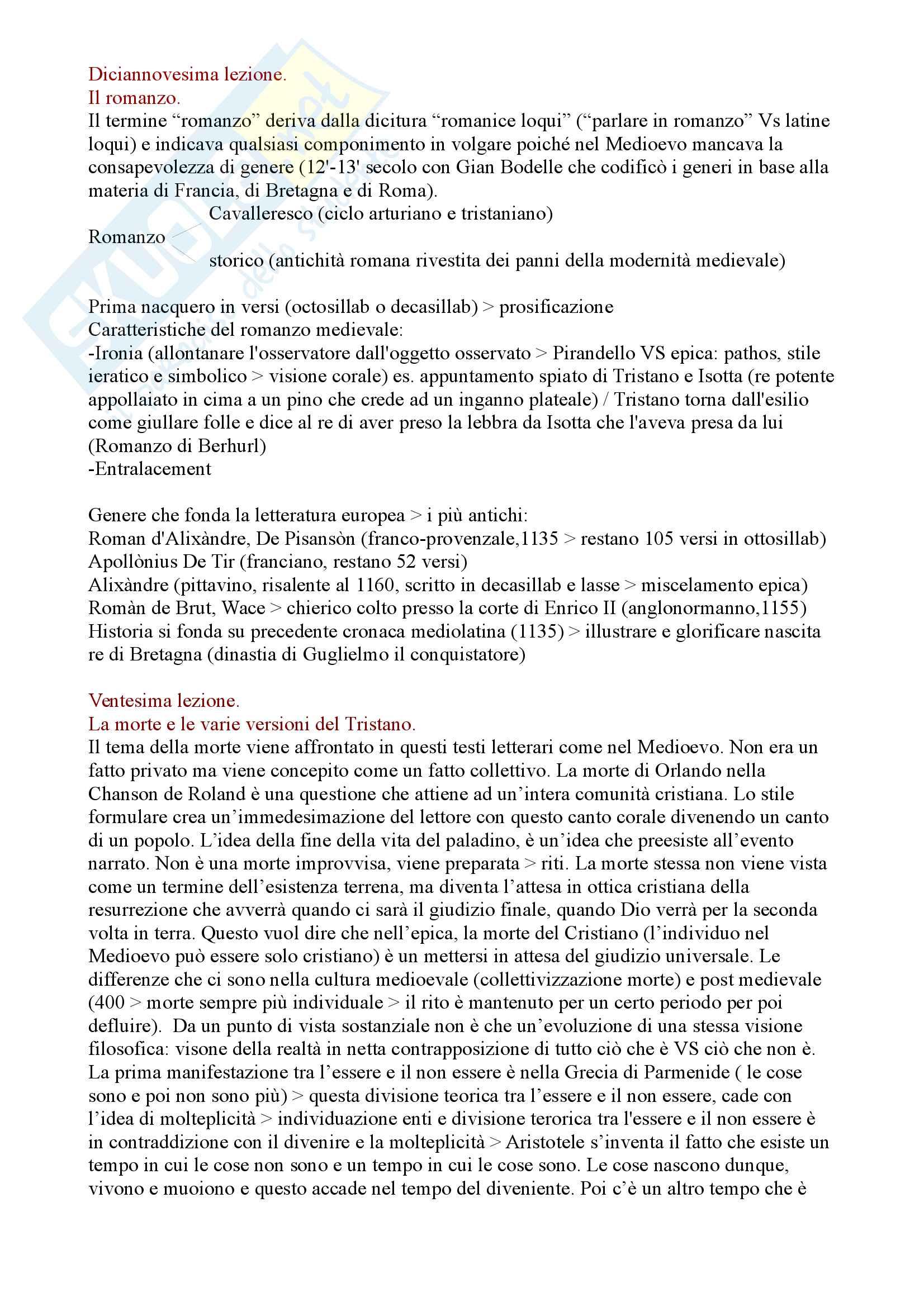 Appunti di Filologia Romanza Pag. 31