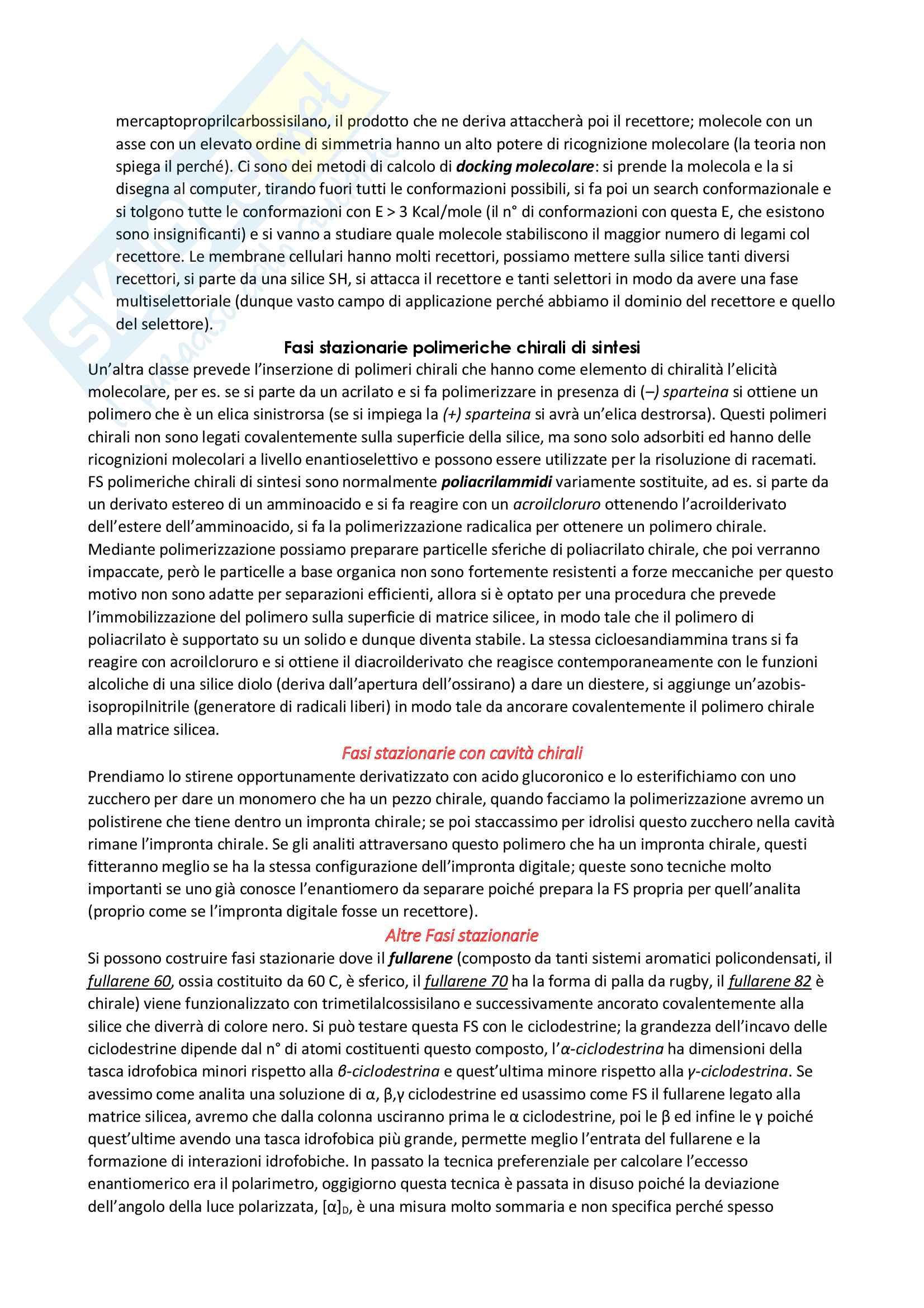 Cromatografia chirale Pag. 6