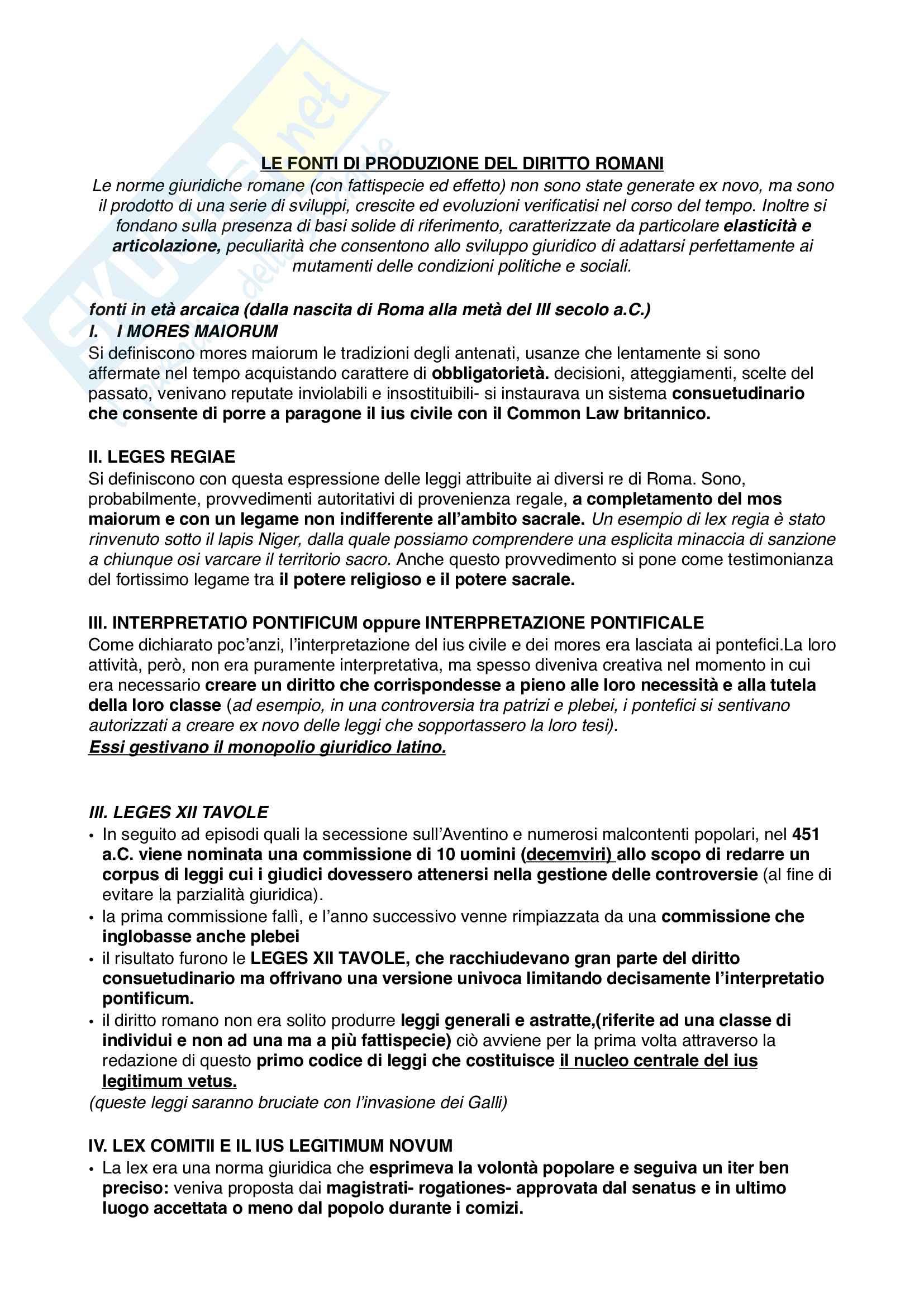 Diritto Romano modulo 1 Pag. 6