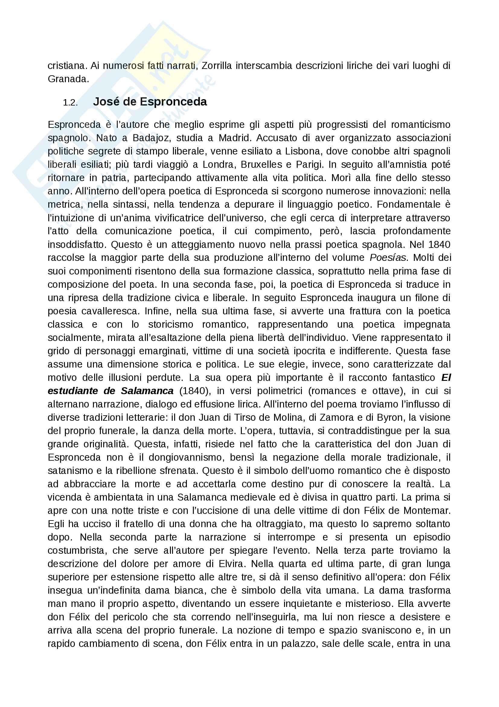 Contesto storico 800 spagnolo Pag. 6