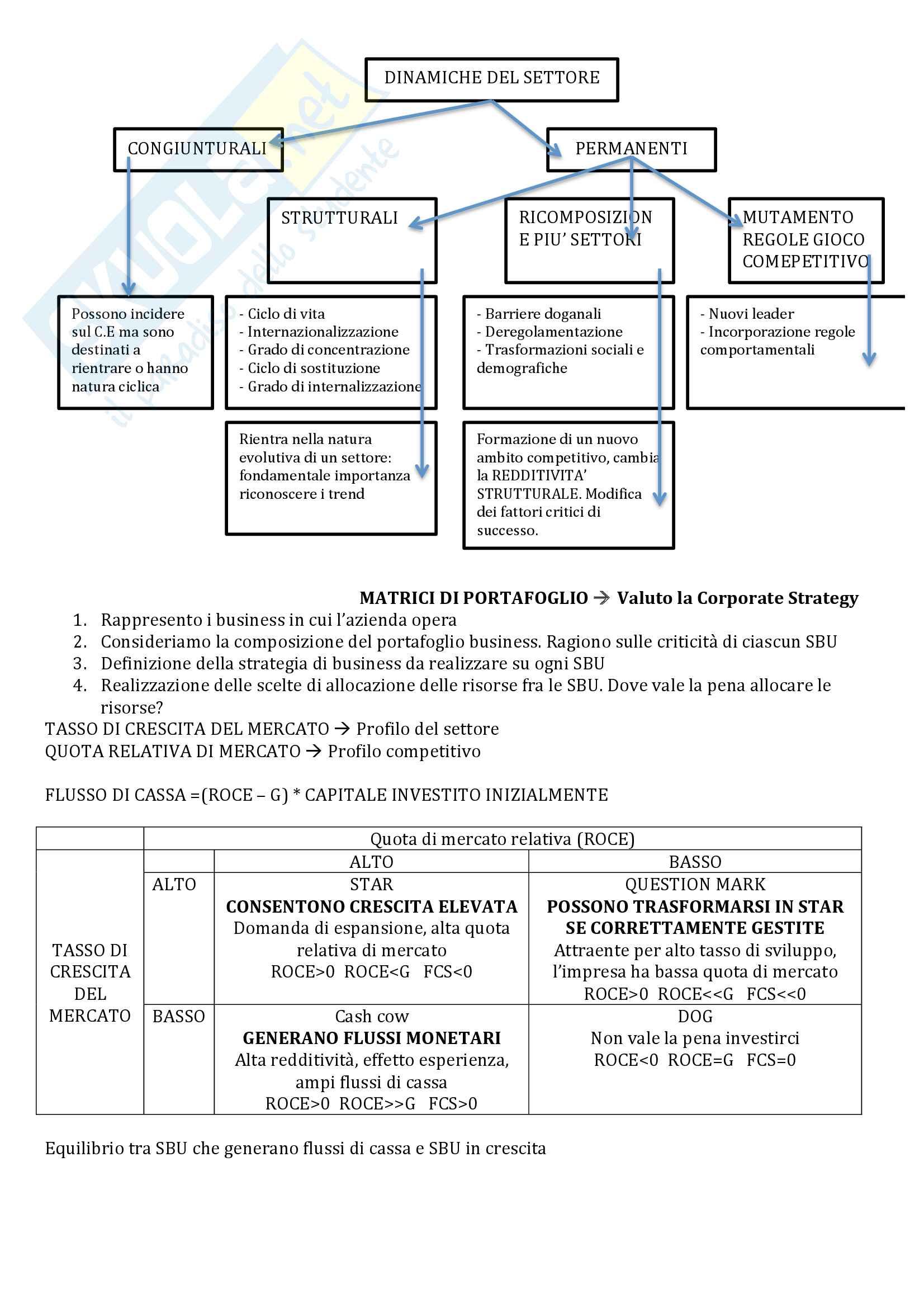 Cassetta degli attrezzi - Analisi strategica Pag. 6