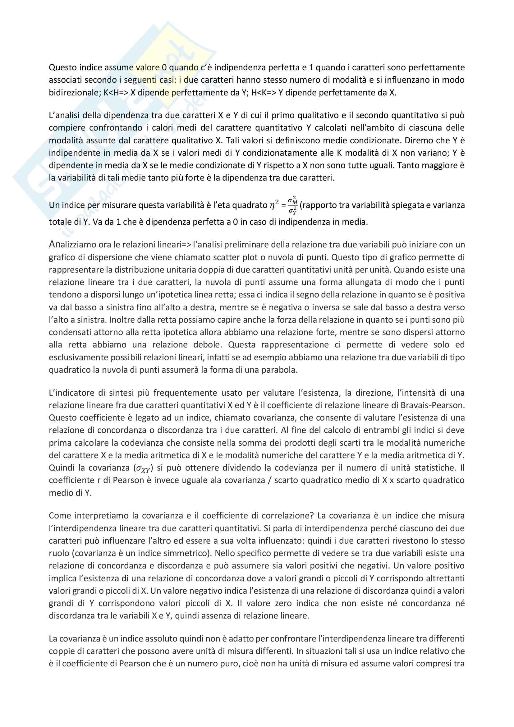 Riassunto esame Fonti e strumenti statistici per la comunicazione, prof Mingo,libro consigliato Statistiche,Istruzioni per l'uso, Bocci,Mingo Pag. 16