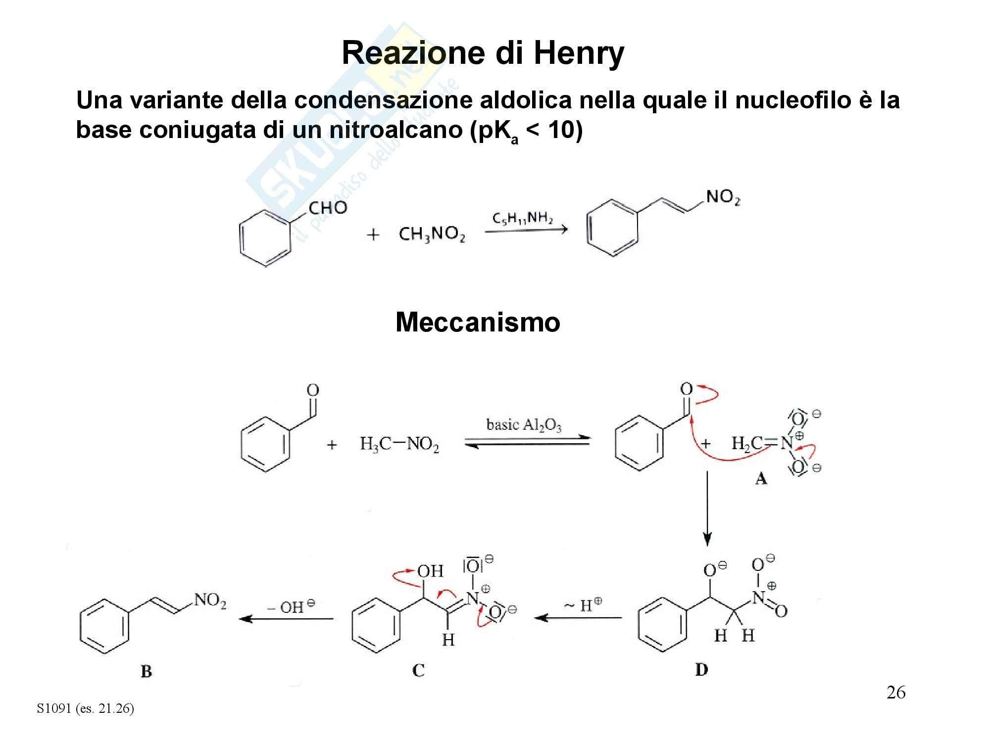 Chimica organica - condensazione di Claisen Pag. 26