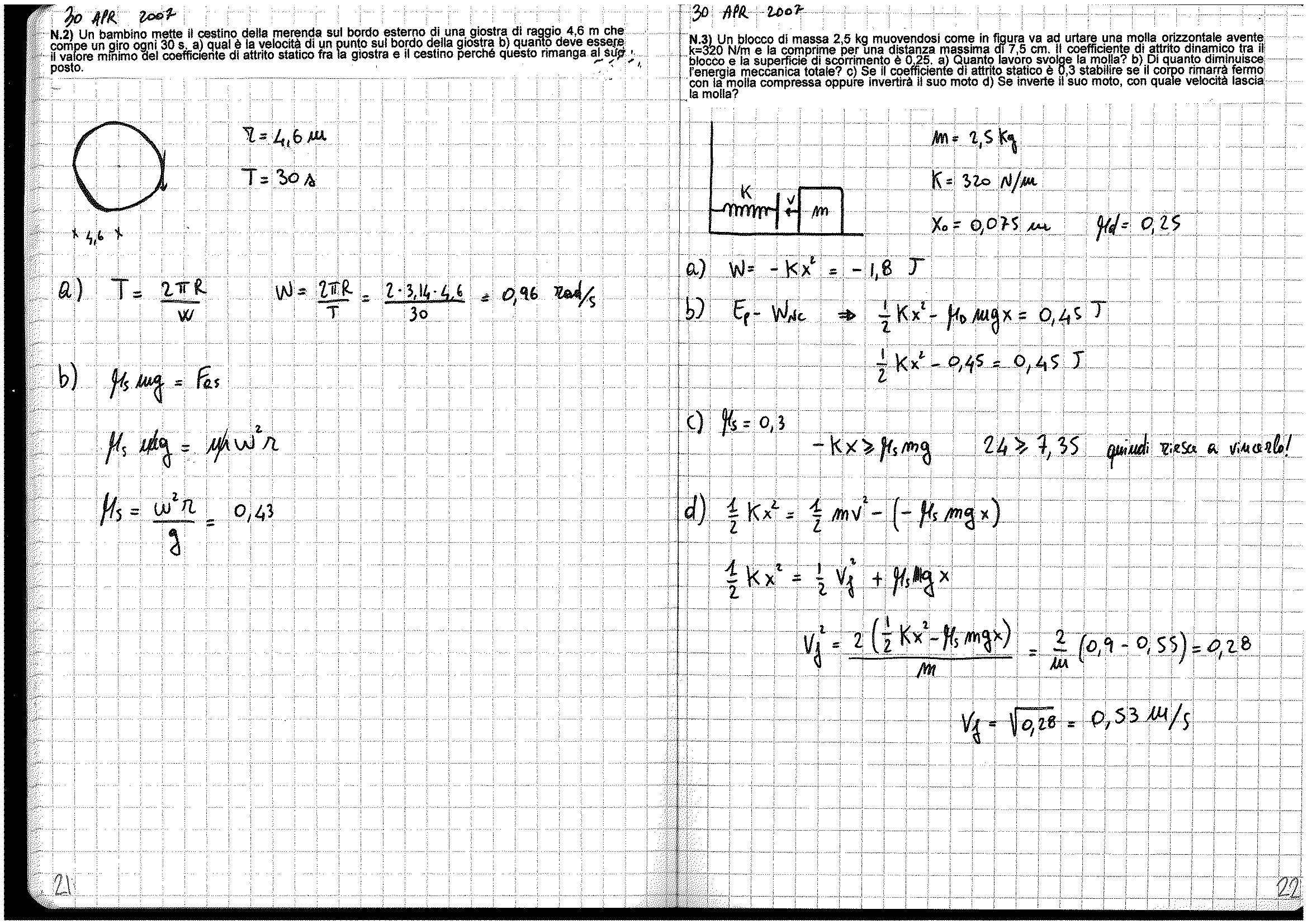 Fisica generale - esercizi Pag. 11
