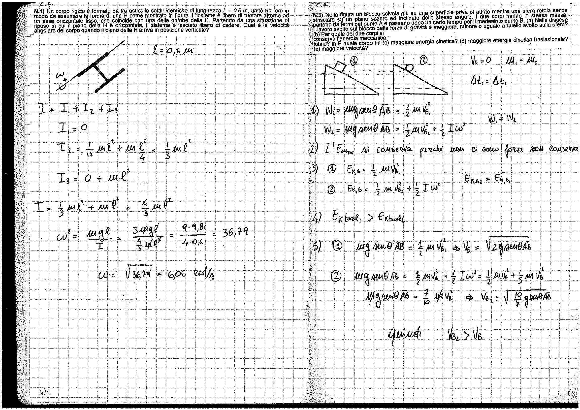 Fisica generale - esercizi Pag. 21