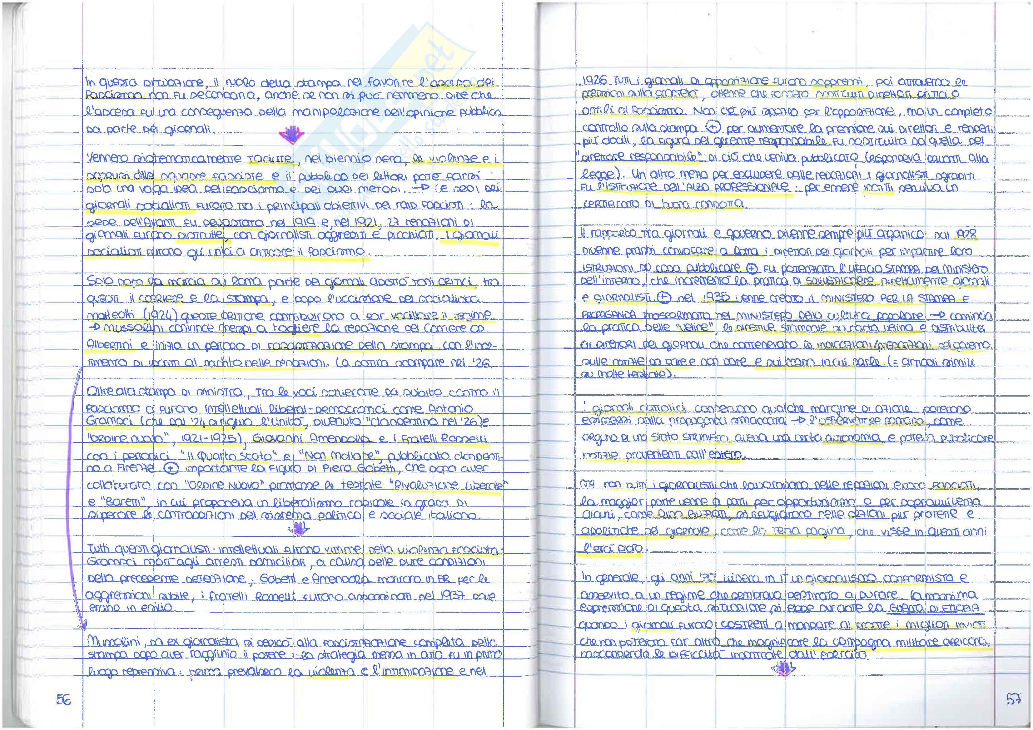 Appunti di storia del giornalismo Pag. 31