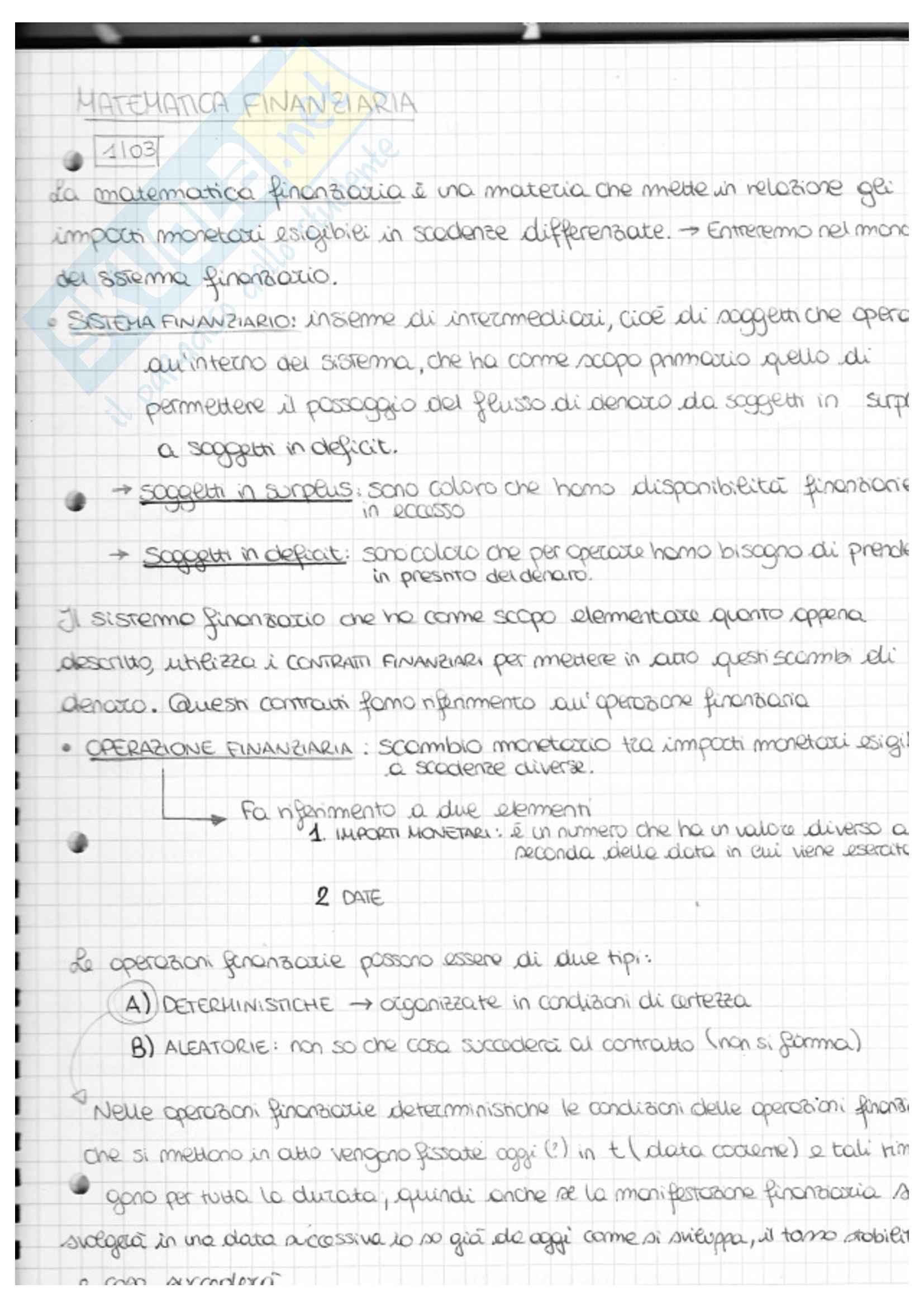 Matematica Finanziaria PDF