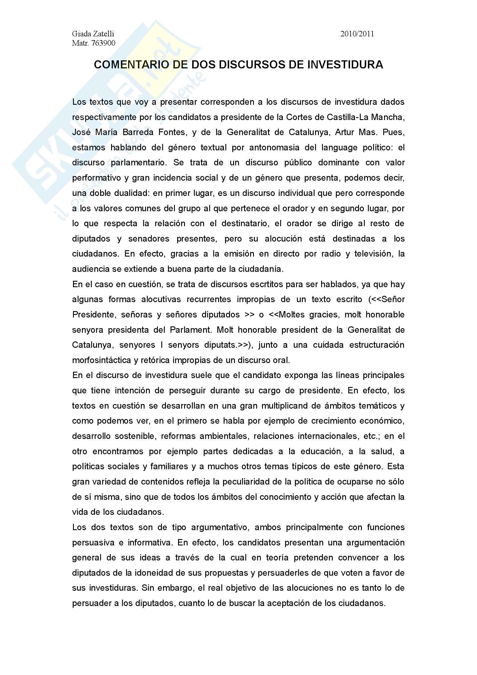 esercitazione L. Santos Lopez Spagnolo II