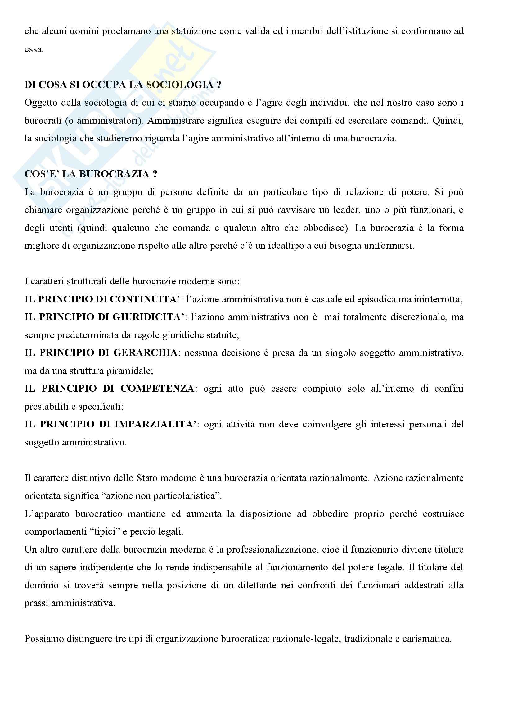 Sociologia generale - nozioni Pag. 2
