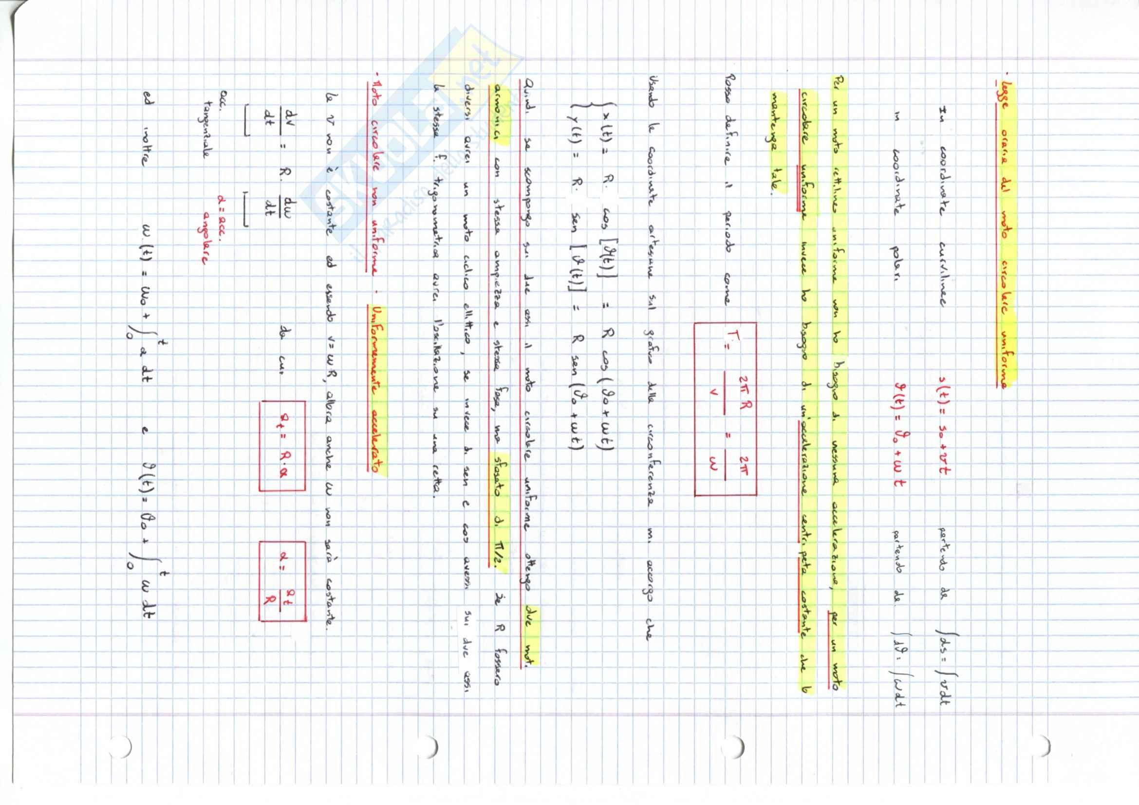 Meccanica -  Appunti Pag. 36