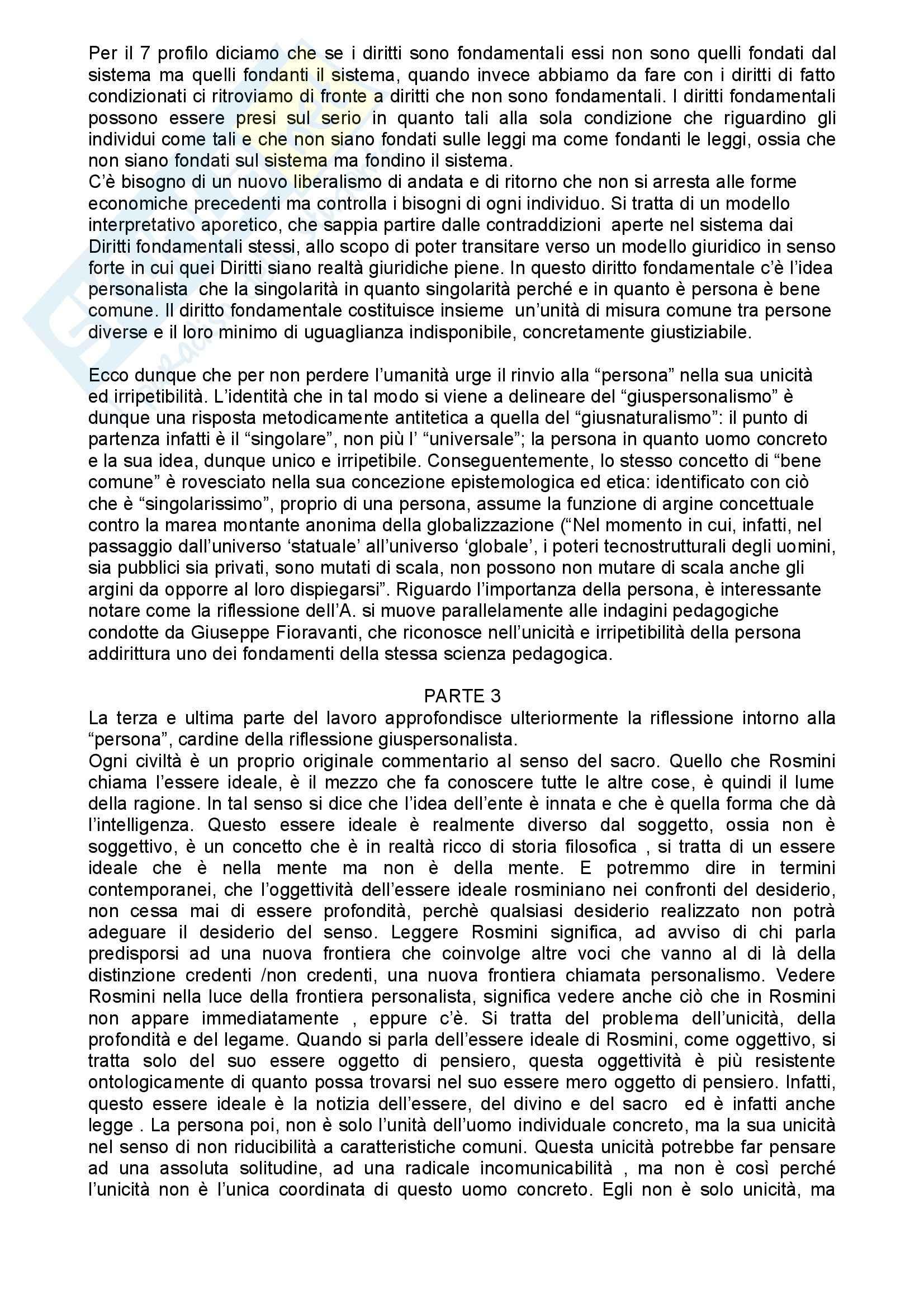 Sociologia dell'educazione – Giusnaturalismo e giuspersonalismo Pag. 6