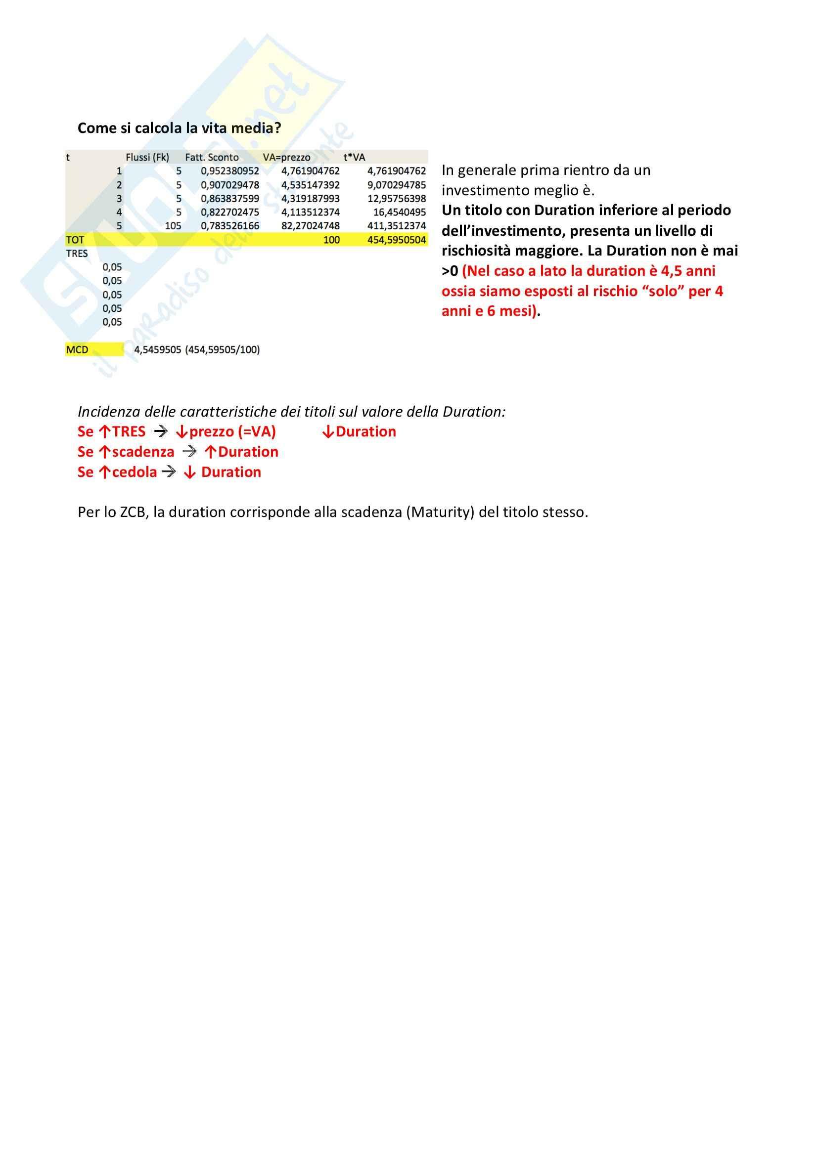 II parziale, Economia del mercato mobiliare Pag. 11