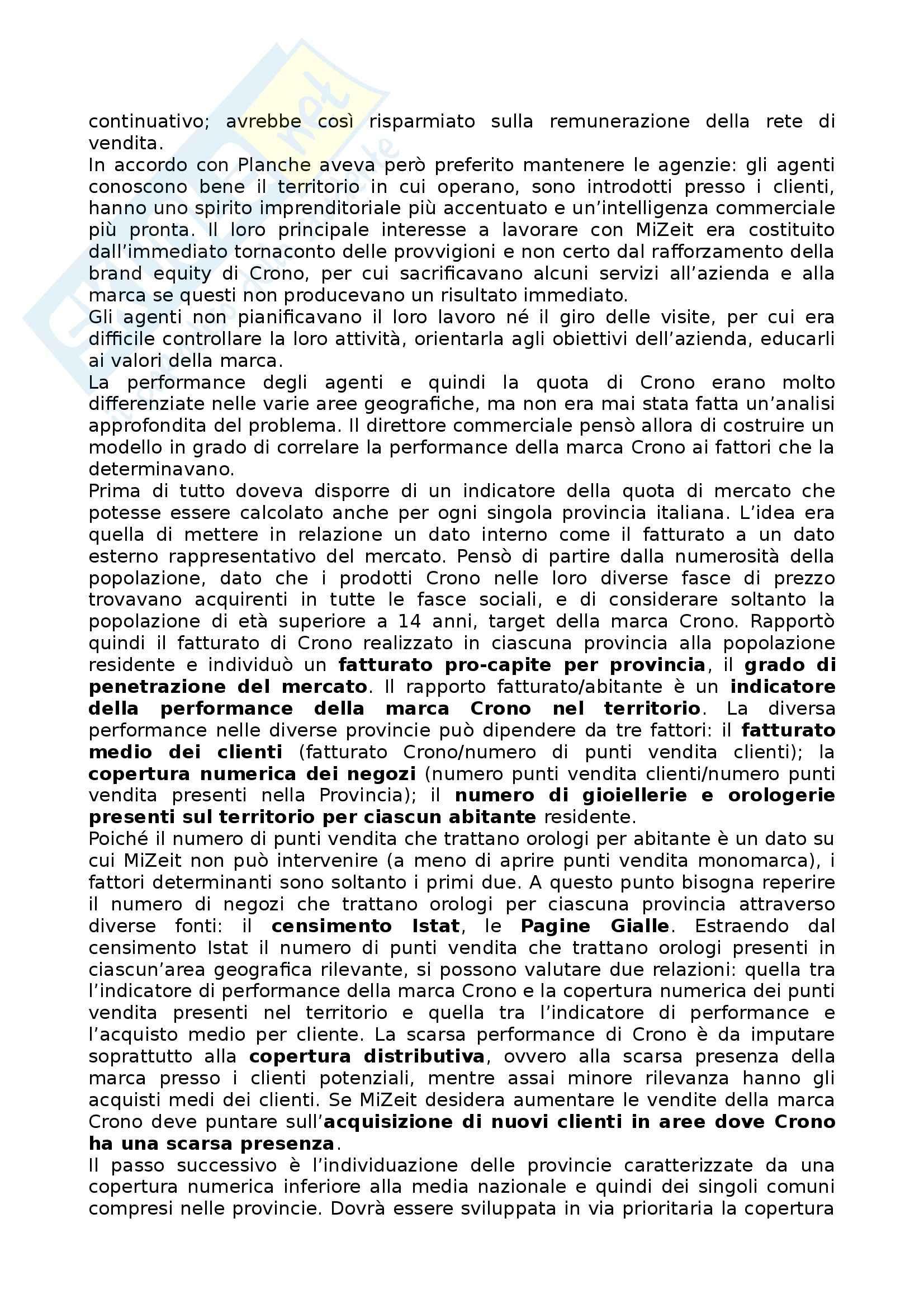 Riassunto esame Marketing, prof. Mauri, libro consigliato Il Marketing per le PMI Pag. 26