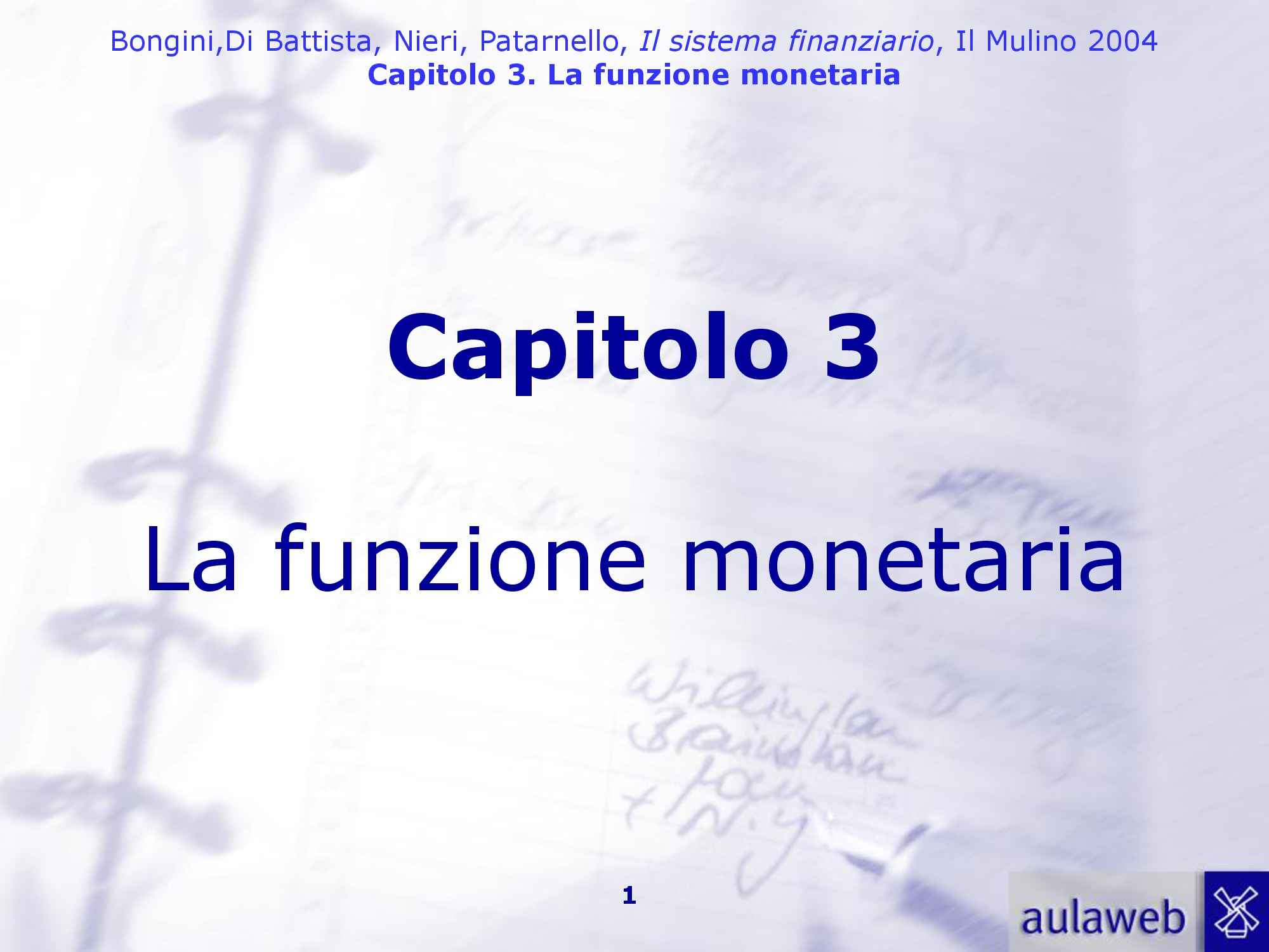 Funzione monetaria