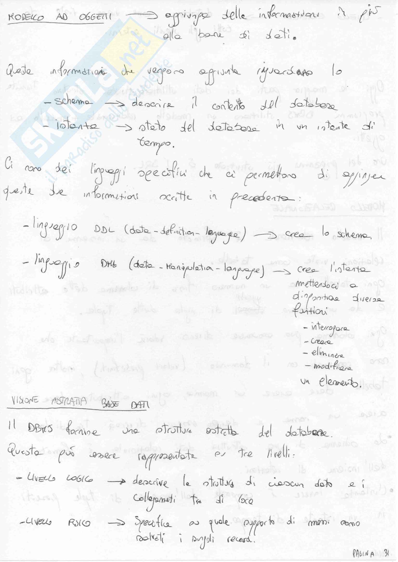 Appunti fondamenti informatica Pag. 31