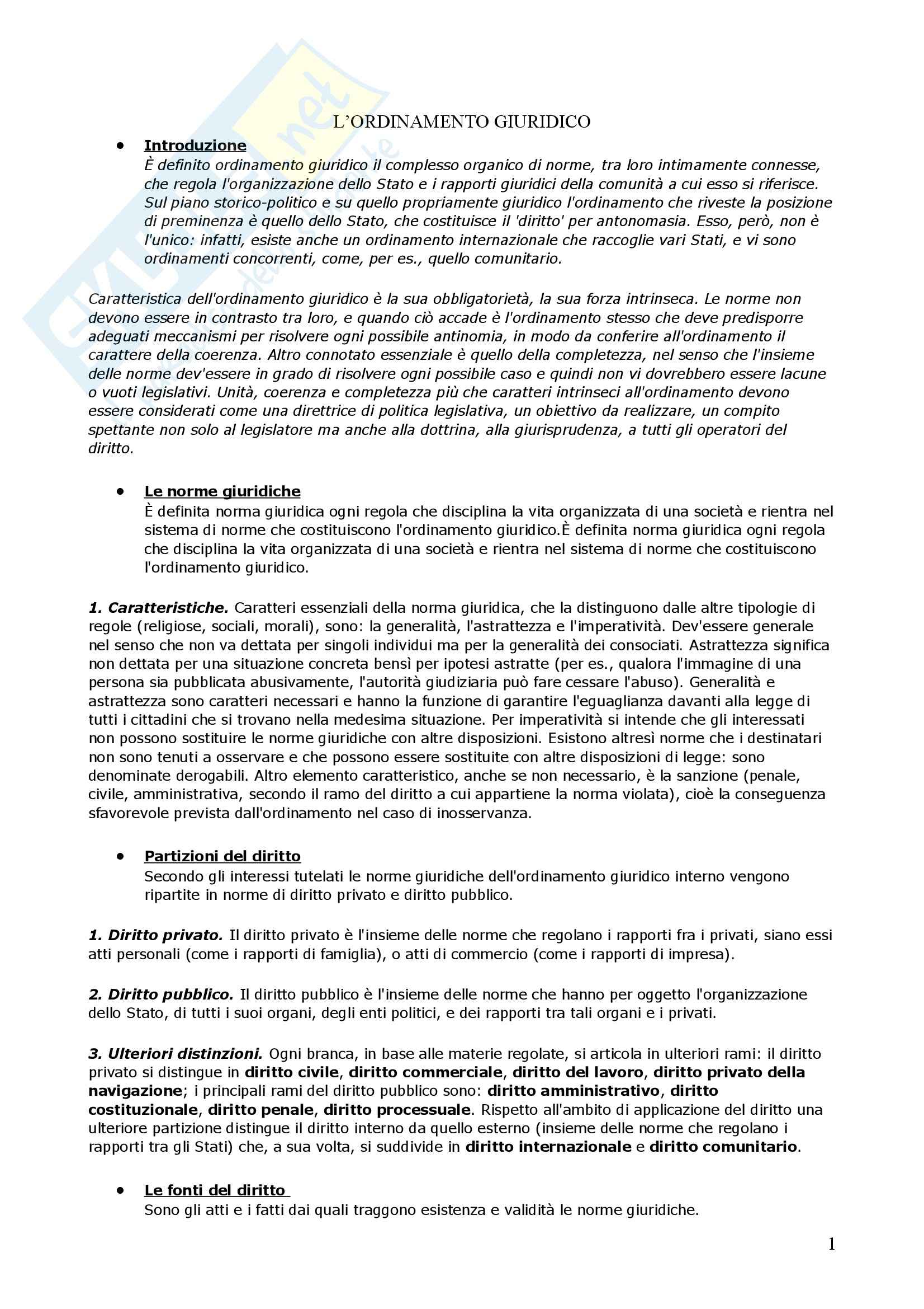 Riassunto esame Diritto Privato, prof. Di Gravio, libro consigliato Diritto Privato, Torrente