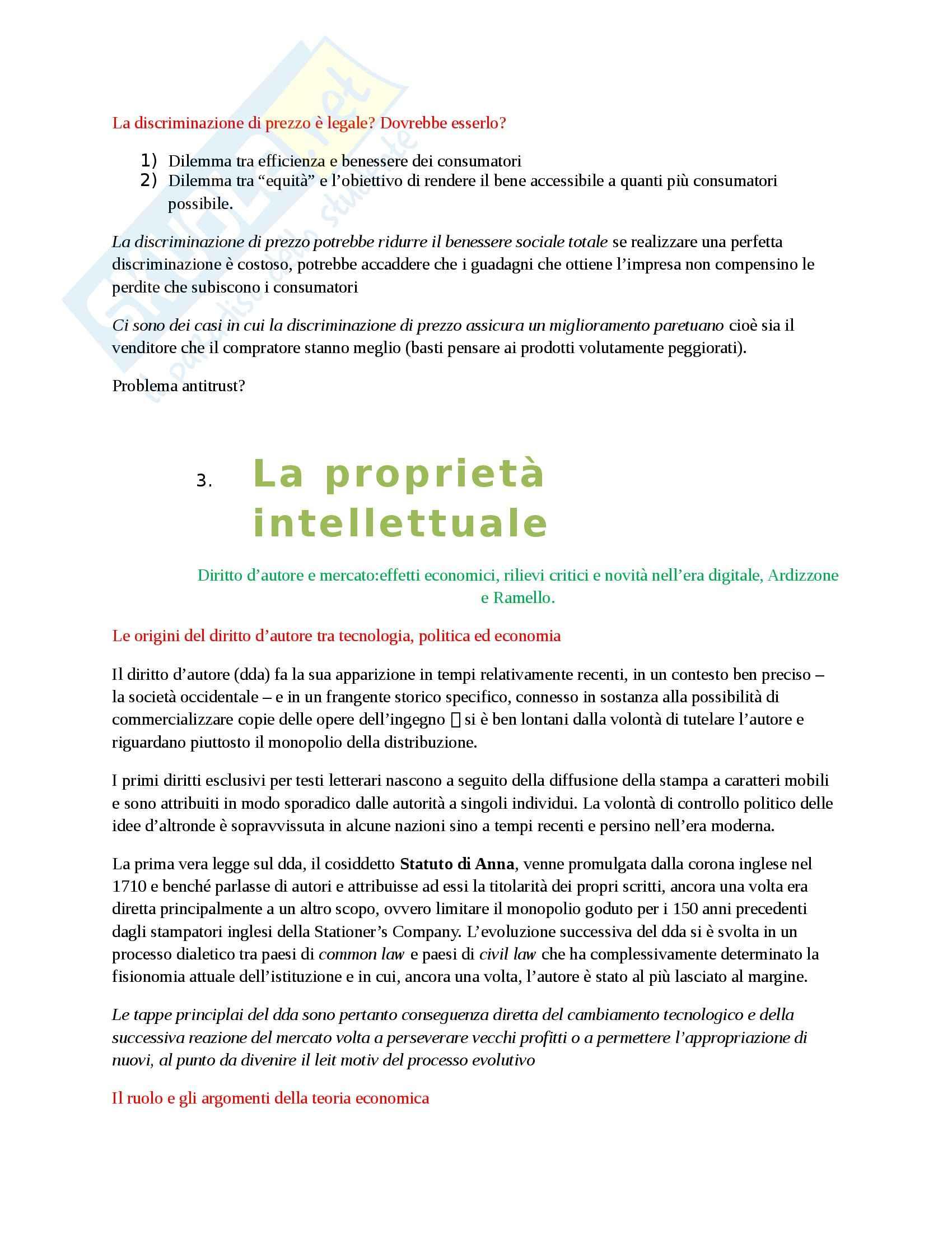 Riassunto esame Economia dei Media, prof. Barbarito Pag. 11
