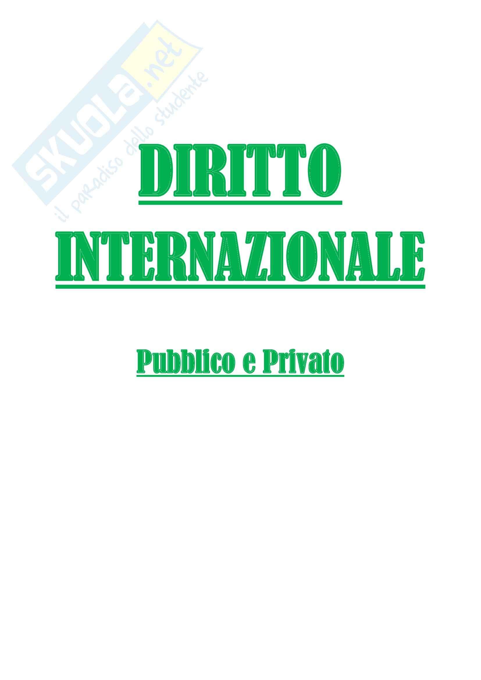 Lezioni, Diritto internazionale