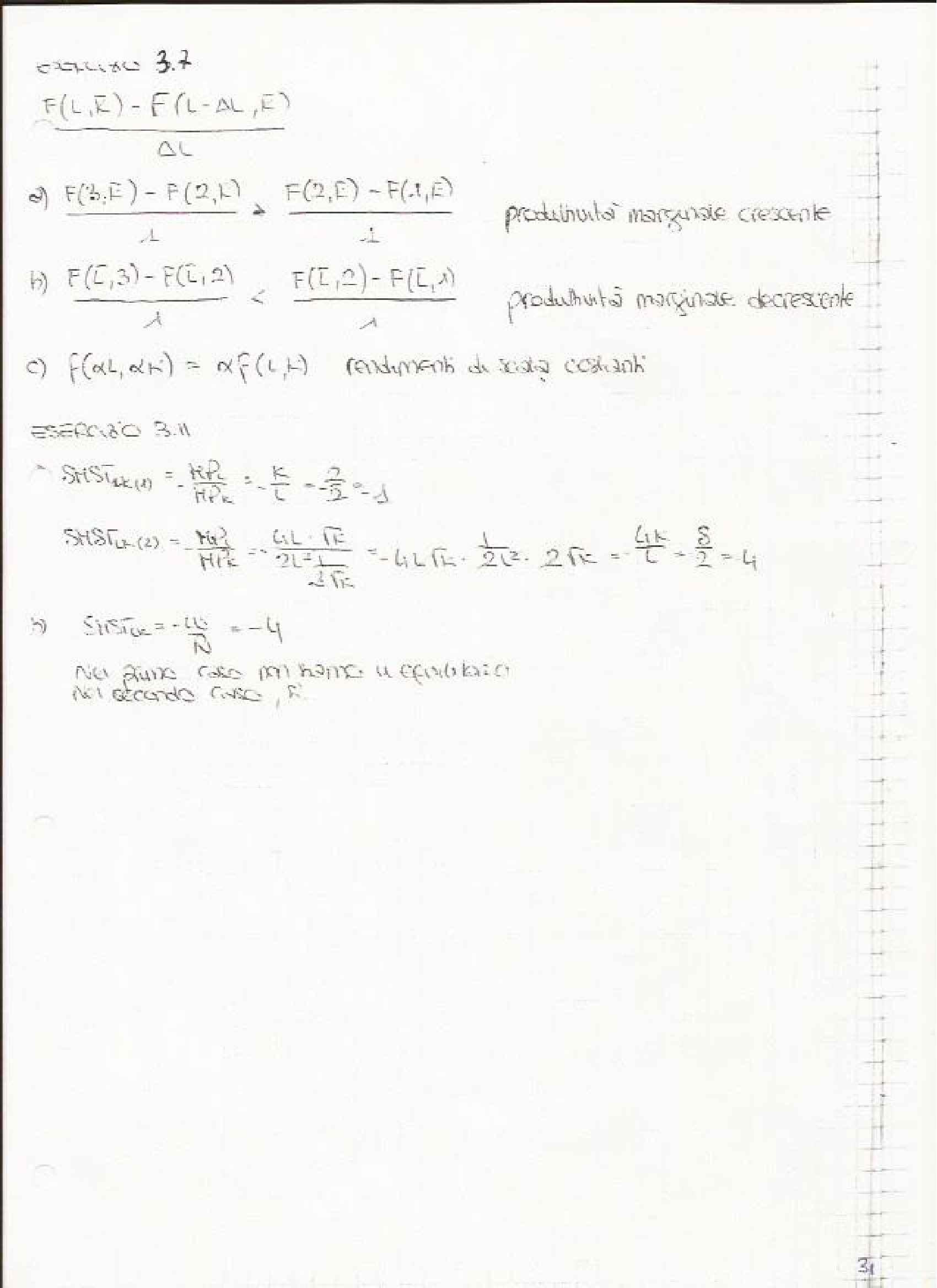 Economia Politica 1 - Esercitazioni Pag. 31