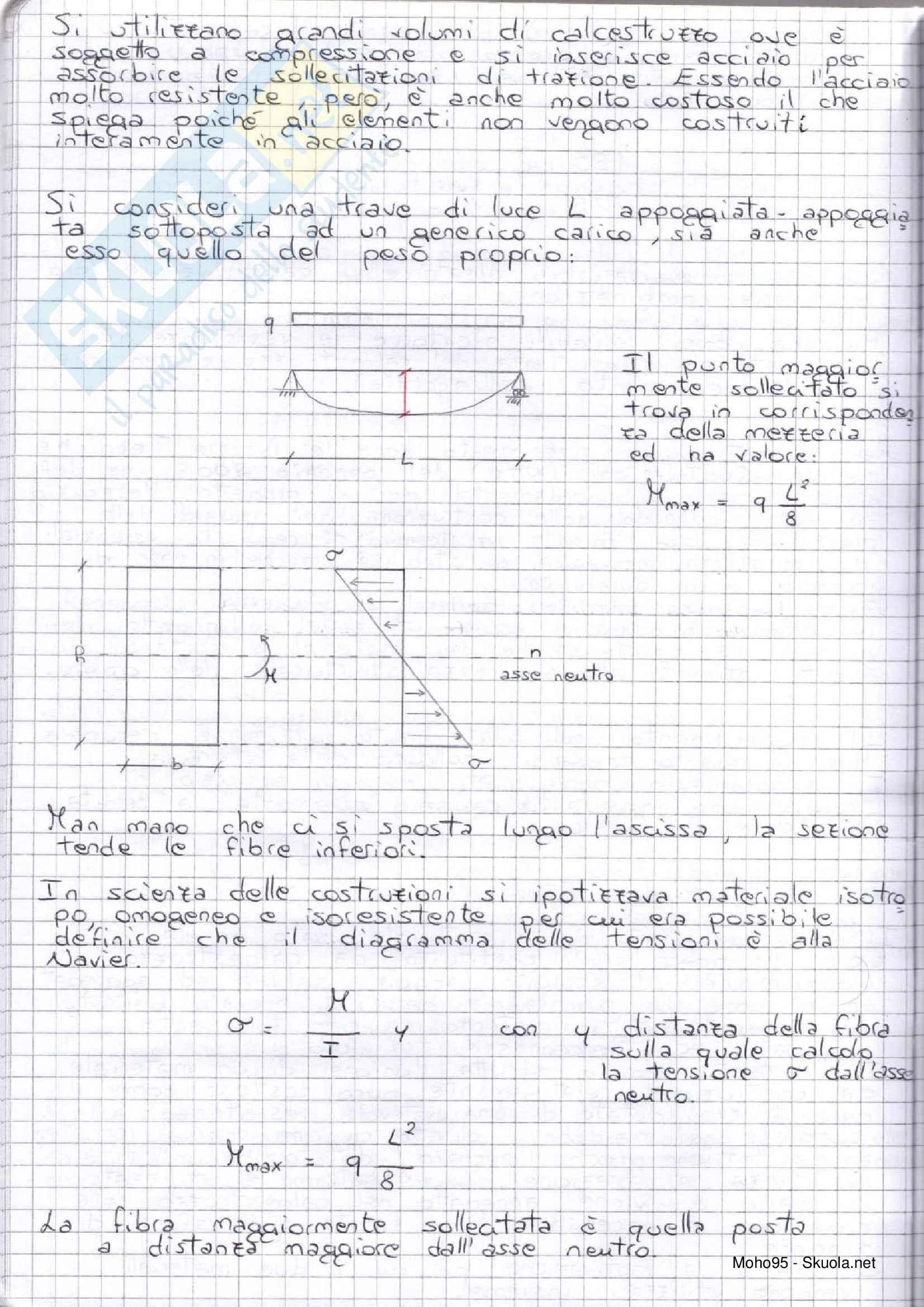 Tecnica delle costruzioni -Teoria, riassunti e relazioni Pag. 16