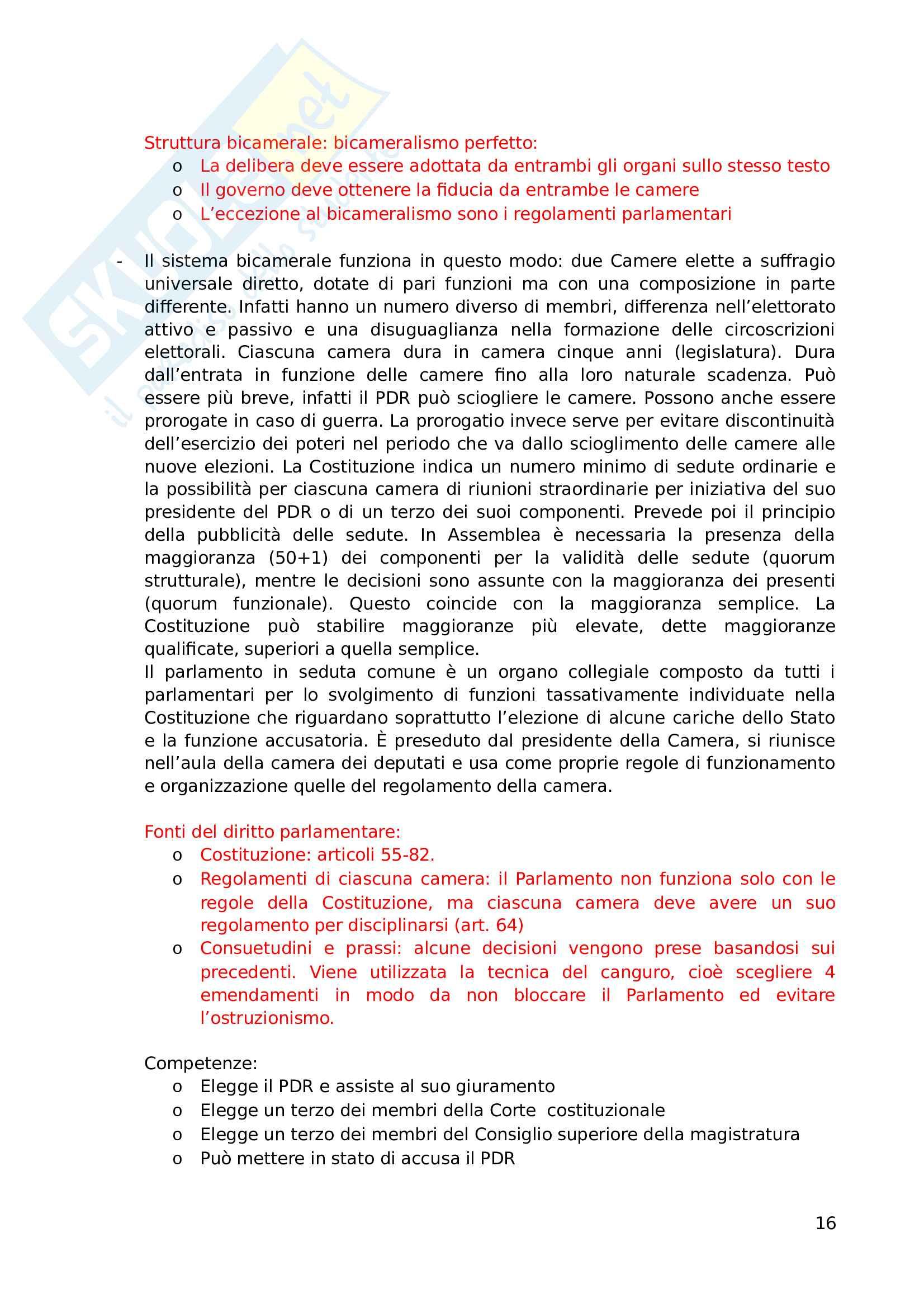 """Riassunto esame, Prof. Andrea Simoncini, libro consigliato """"Introduzione allo studio del diritto pubblico e delle sue fonti"""" Pag. 16"""