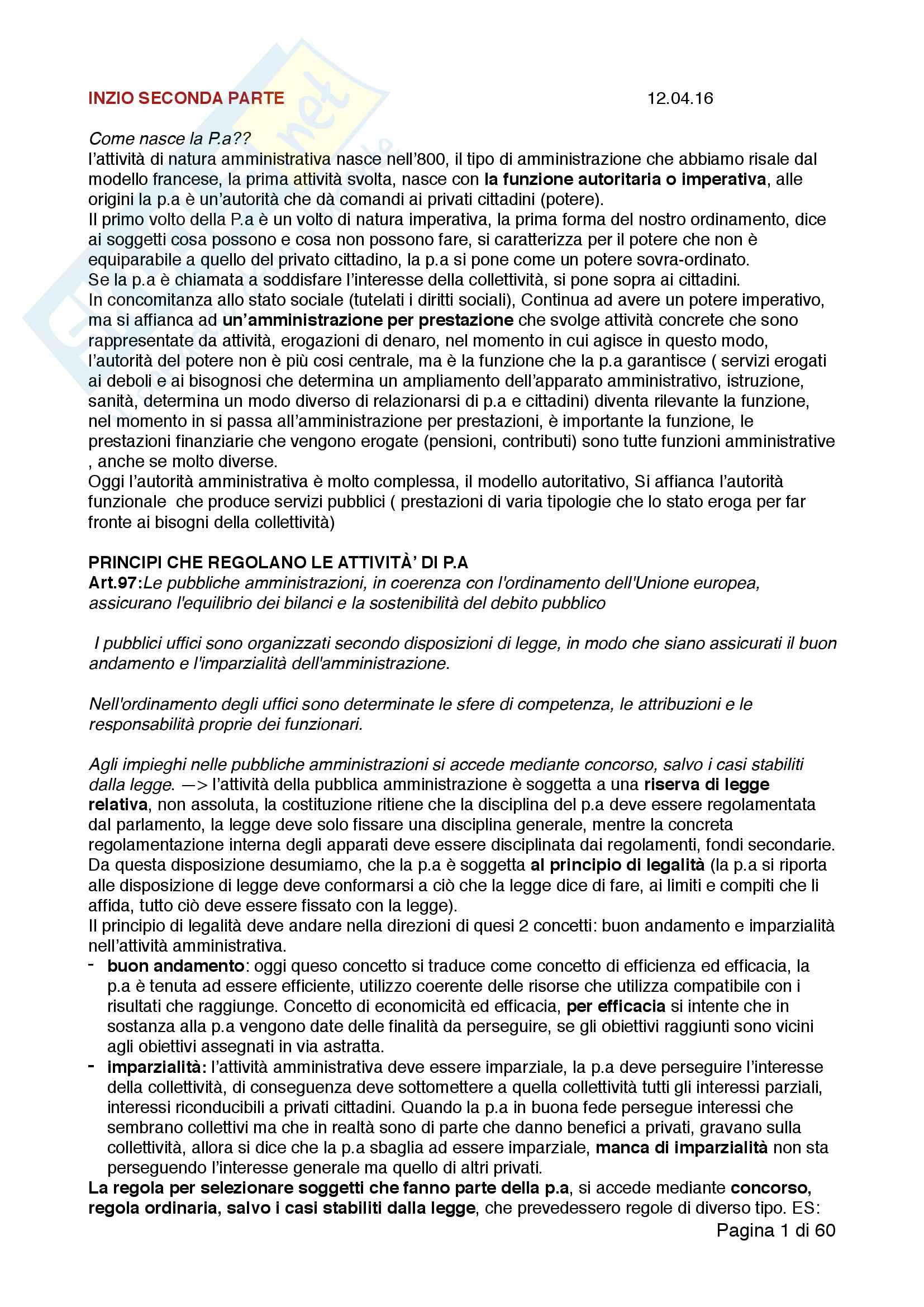 Diritto pubblico e diritto dell'economia II parte
