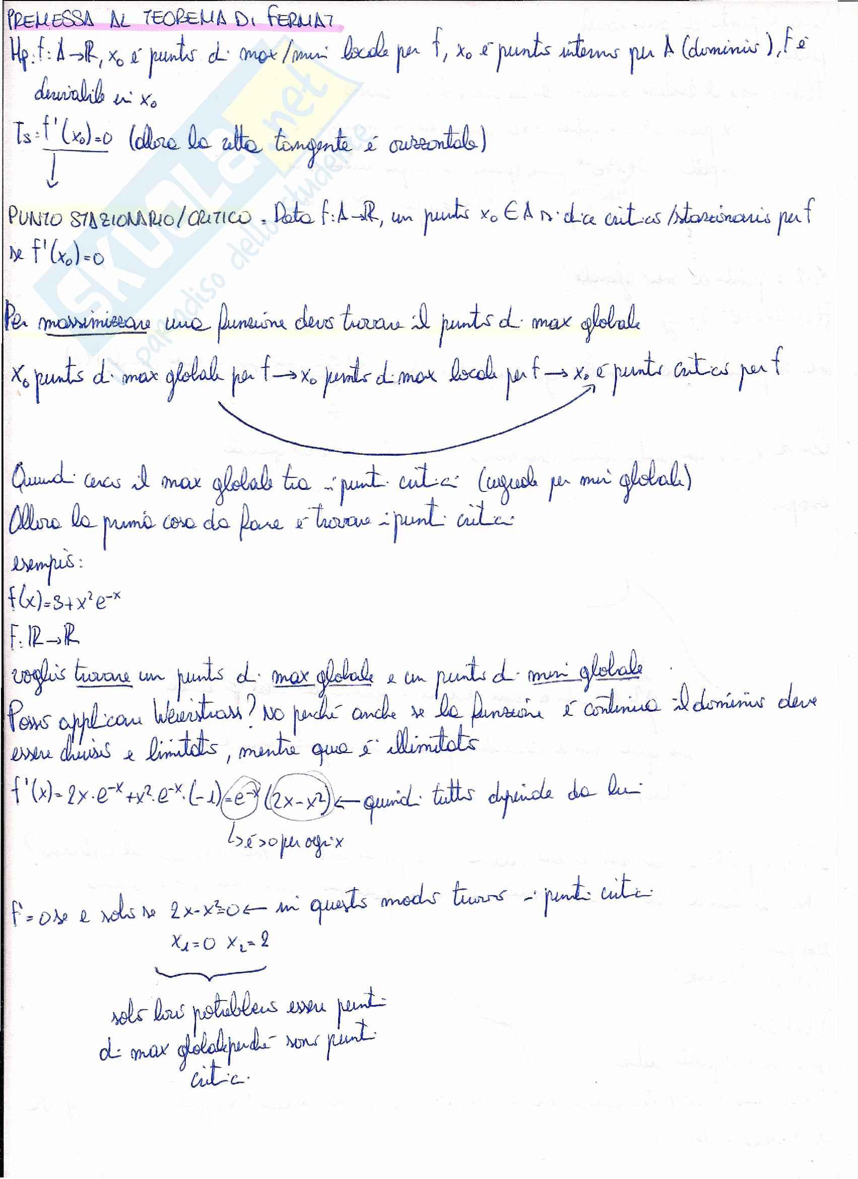 Matematica per le applicazioni I - teoremi Pag. 6