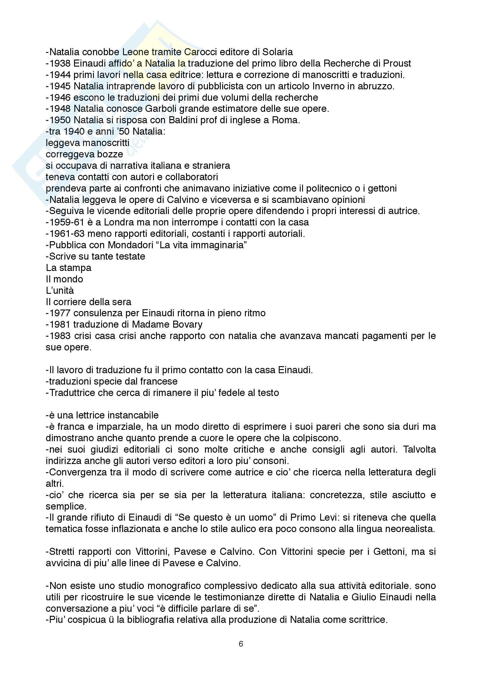 Riassunto esame Storia del libro, prof. Braida, libro consigliato Protagonisti nell'ombra, Brega, Bonchio, Ferrata, Garboli Pag. 6