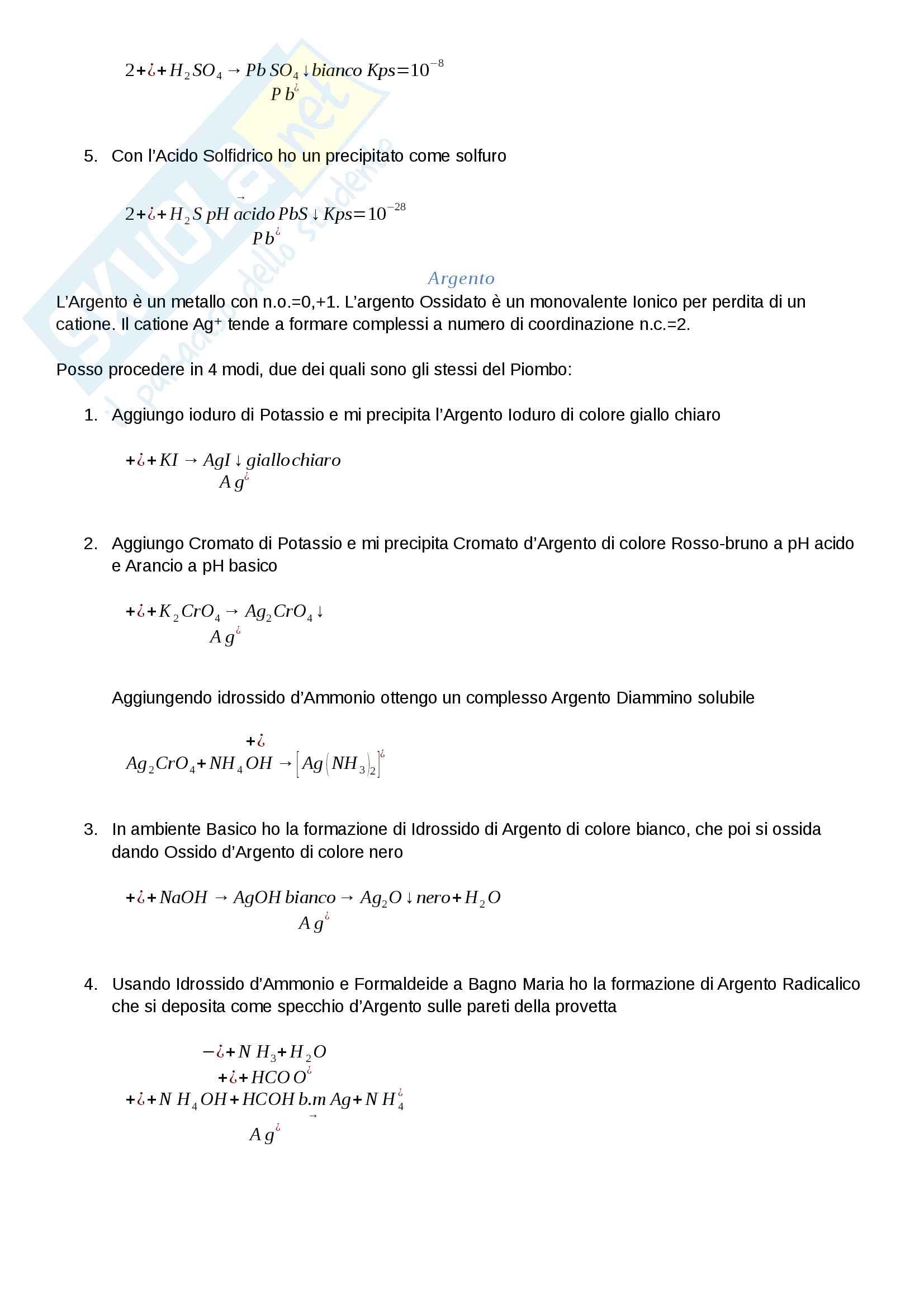 Analisi dei Farmaci I Pag. 2